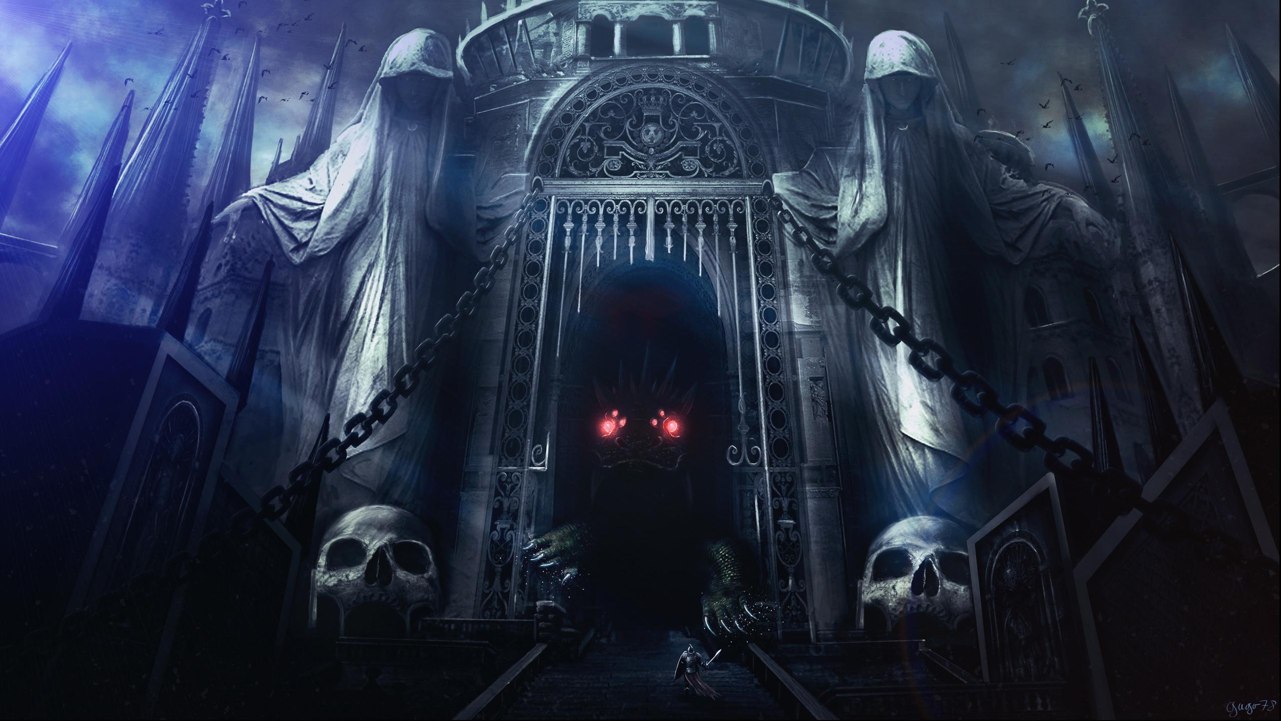 Dark Castle HQ Wallpaper HD x