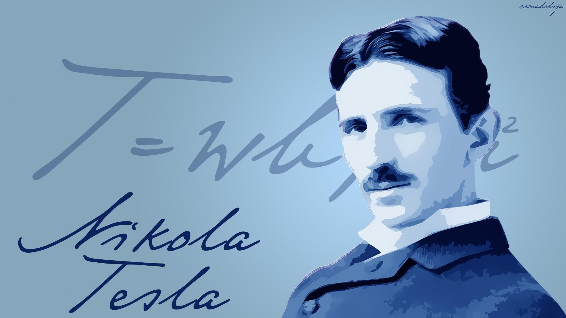 Nikola Tesla, Scientists Wallpapers HD / Desktop and Mobile Backgrounds
