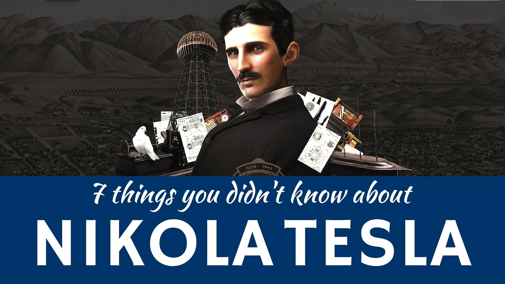 Nikola Tesla Wallpaper Science