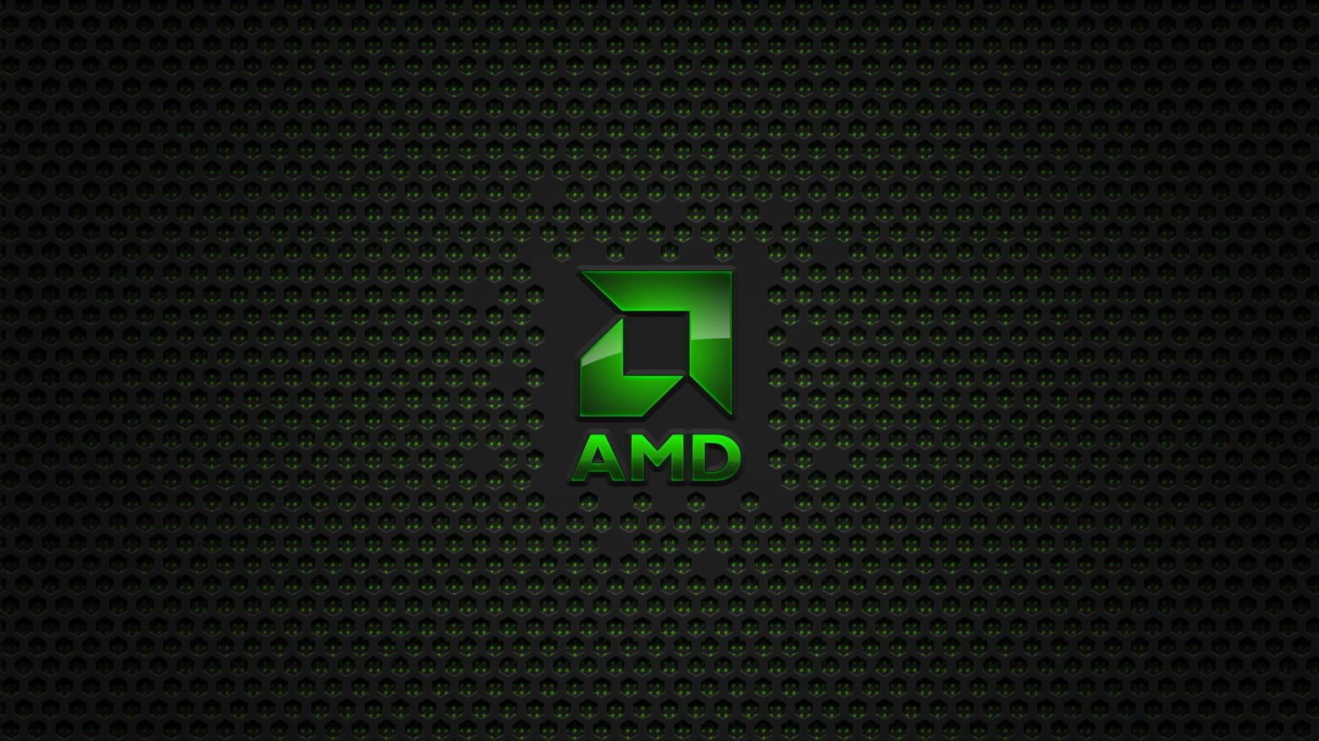 Preview wallpaper amd, company, processors, computer, logo 1920×1080