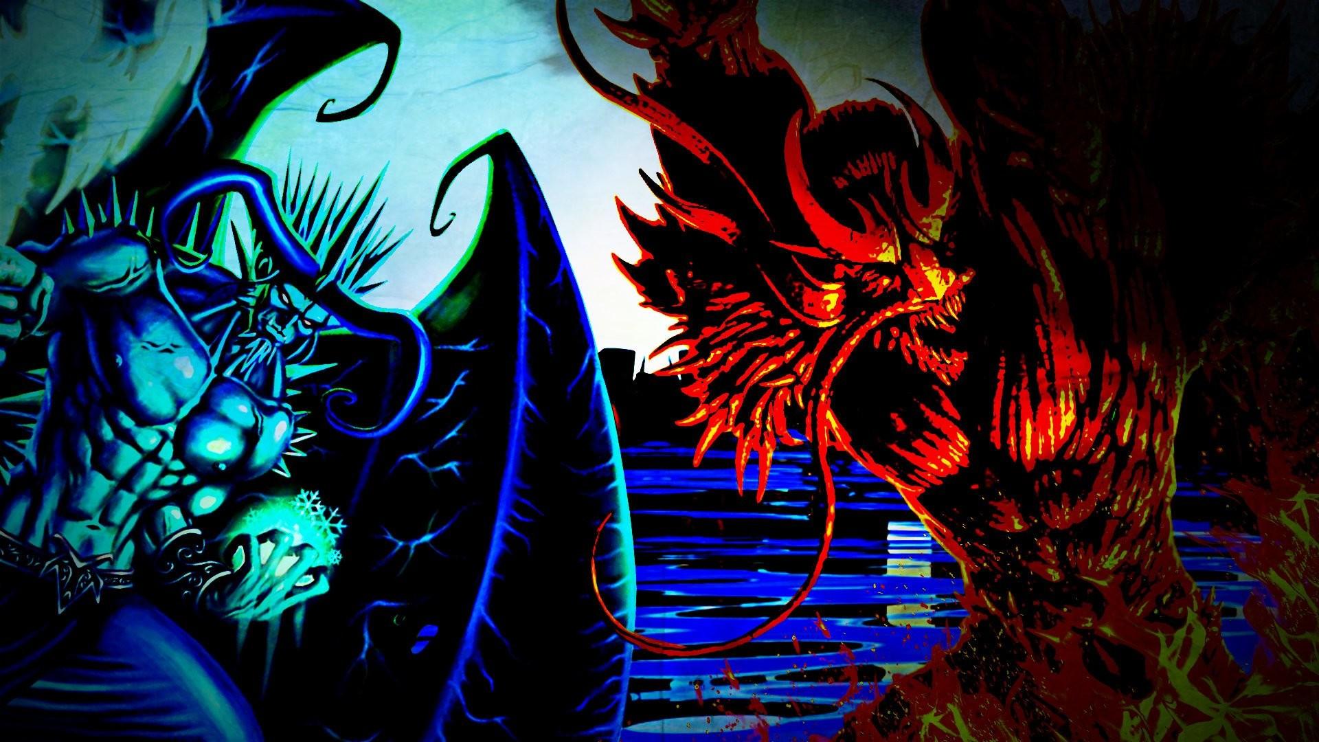 Fantasy – Demon Water Devil Monster Wallpaper