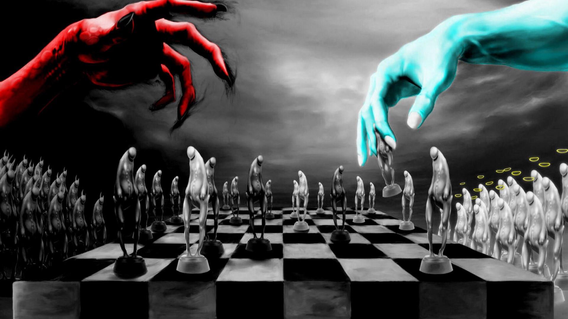 God vs devil [1920×1080] …