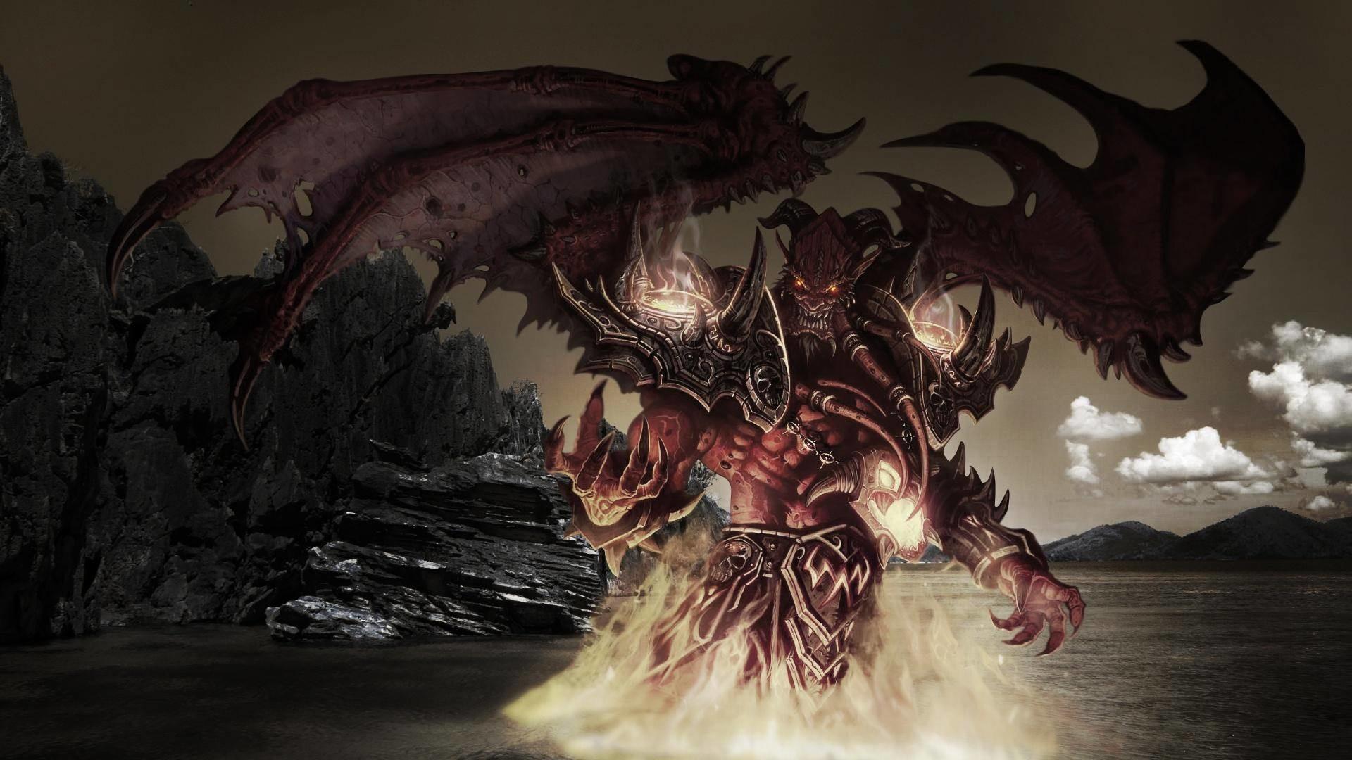 World of Warcraft Devil's Advocate Wallpaper
