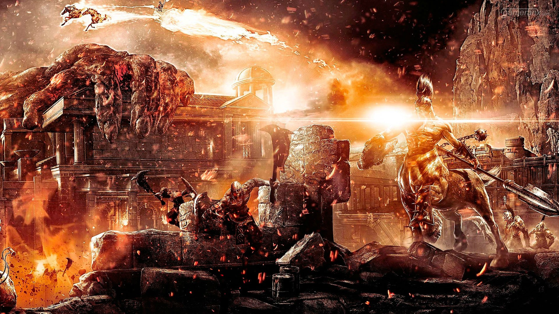 God of War 3 Game HD desktop wallpaper, God of War wallpaper – Games no.