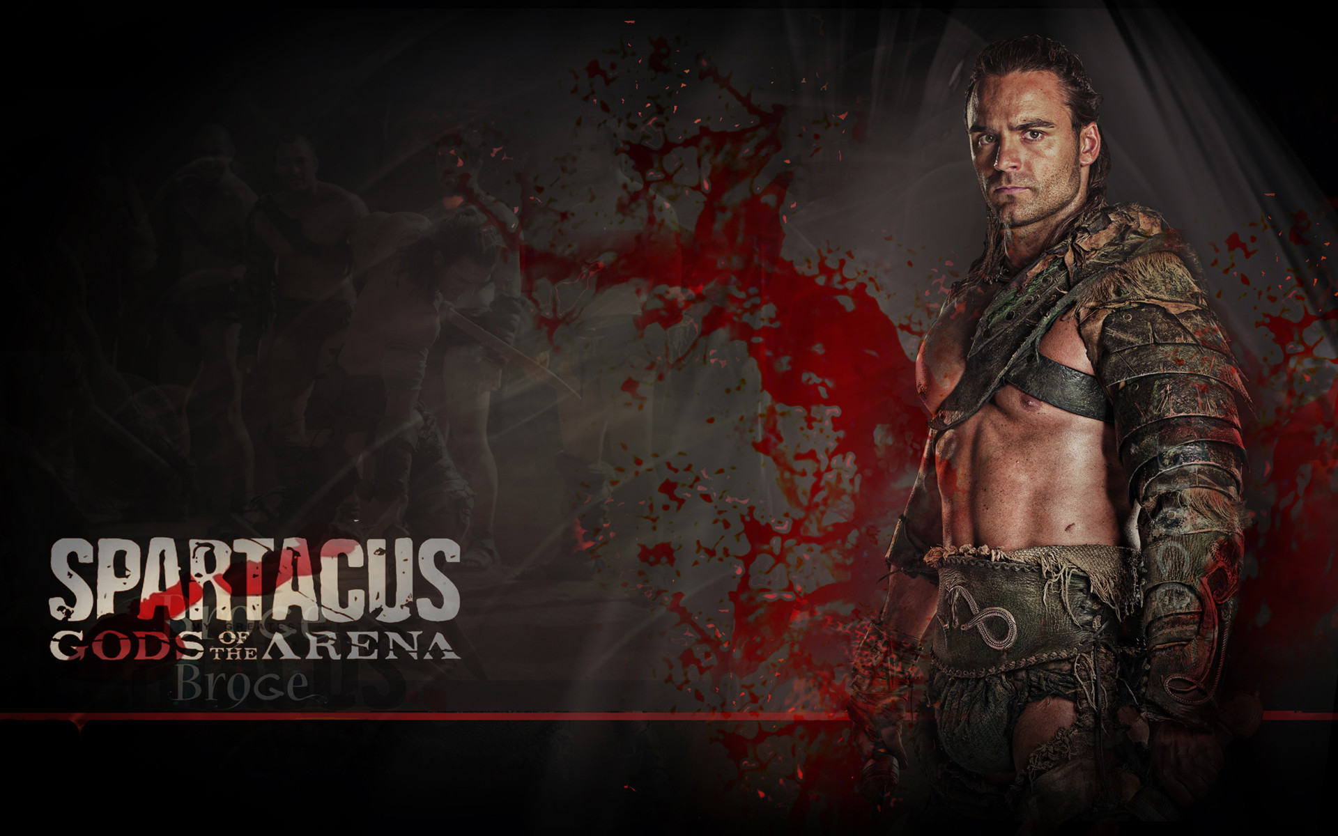 Spartacus Gods Of The Arena Wallpaper