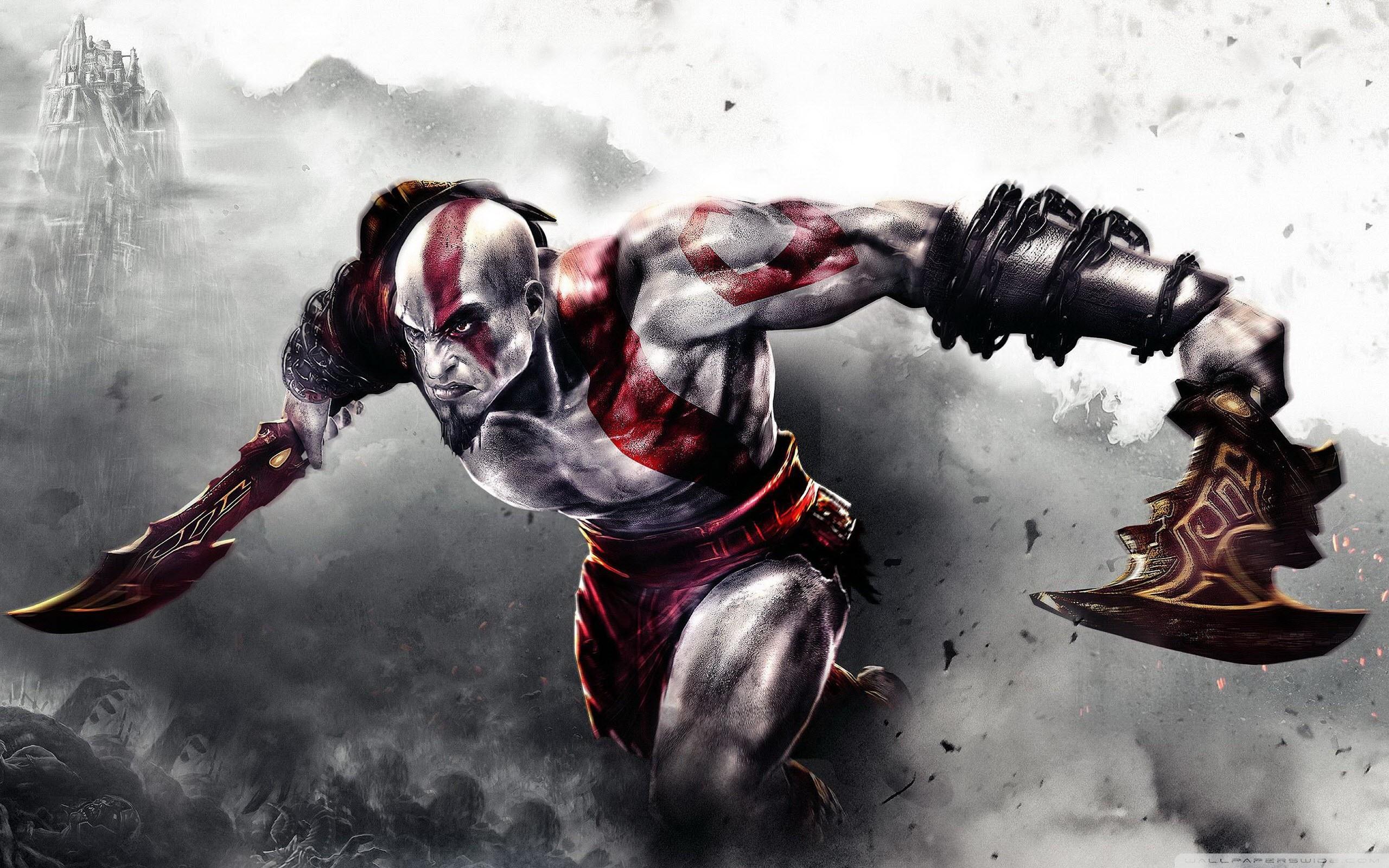 God of War 3 HD Wide Wallpaper for Widescreen