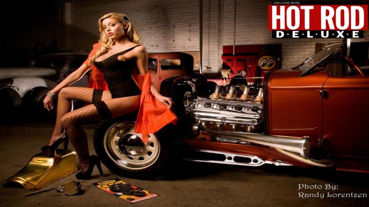 Hot Rod Pin Up Wallpaper Pin Up Girl In Hot Rod Hd Wallpaper