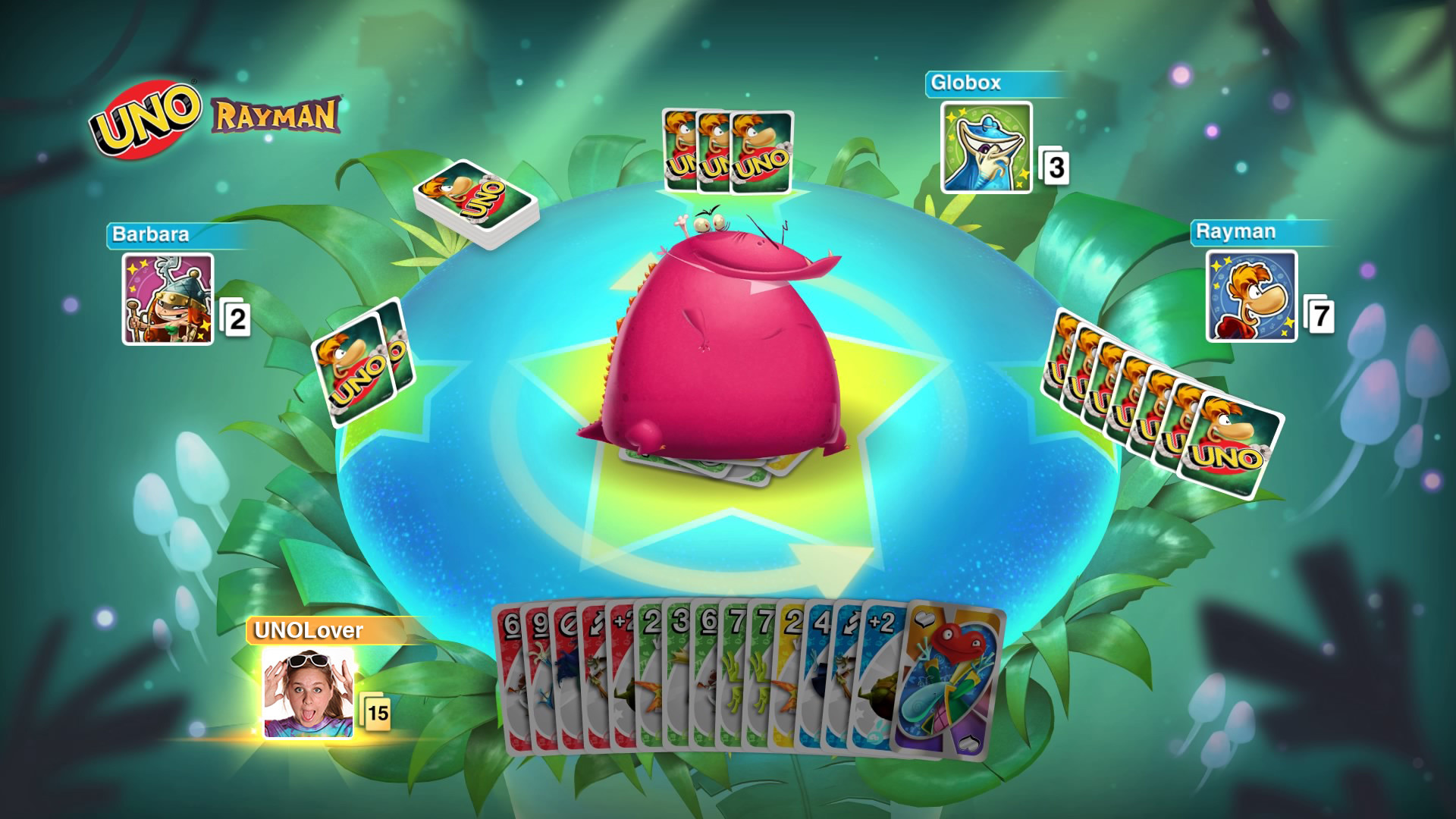 Uno Screenshot DLC Rayman 1 Screenshot