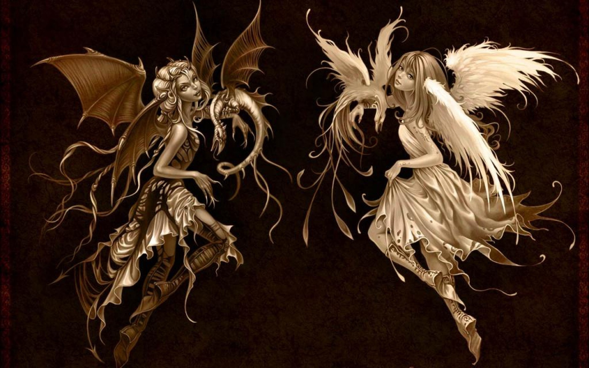 wings, Devil, Angel, Dragon Wallpapers HD / Desktop and Mobile Backgrounds