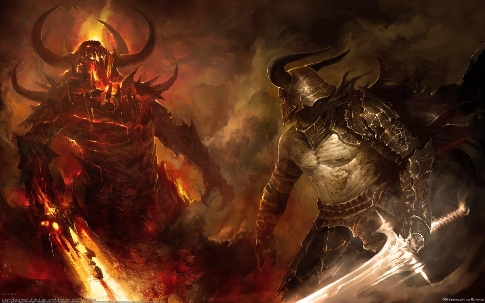 Demon Vs Angel …
