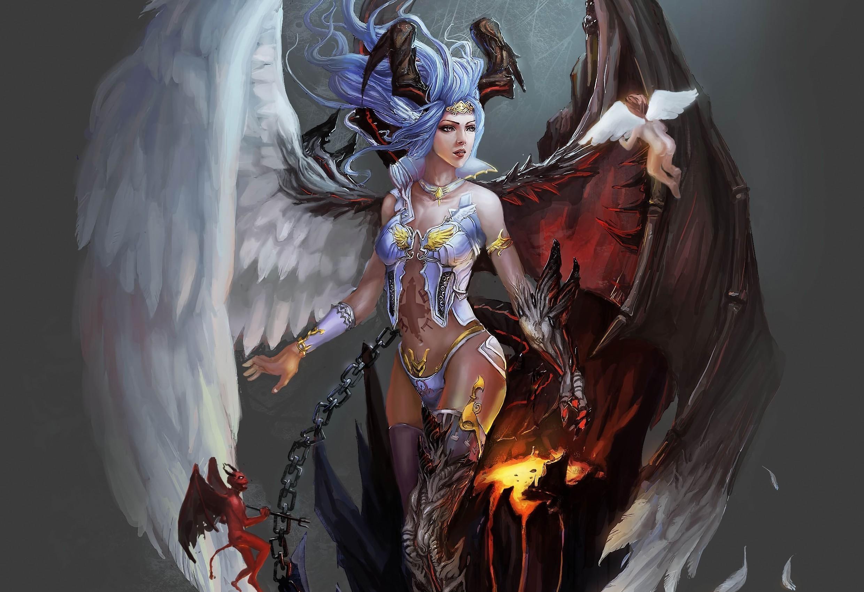 Fantasy – Angel Wallpaper