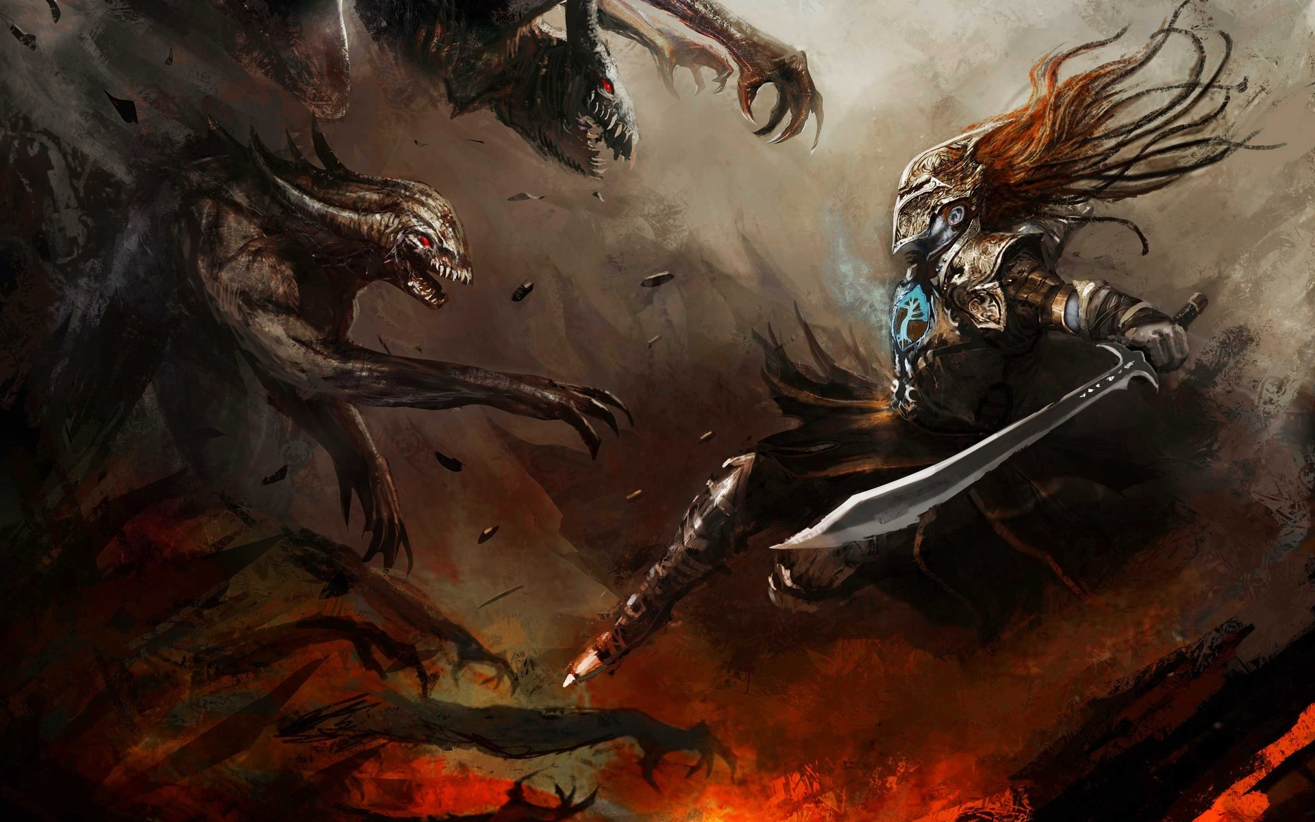 Demons Vs Angels War