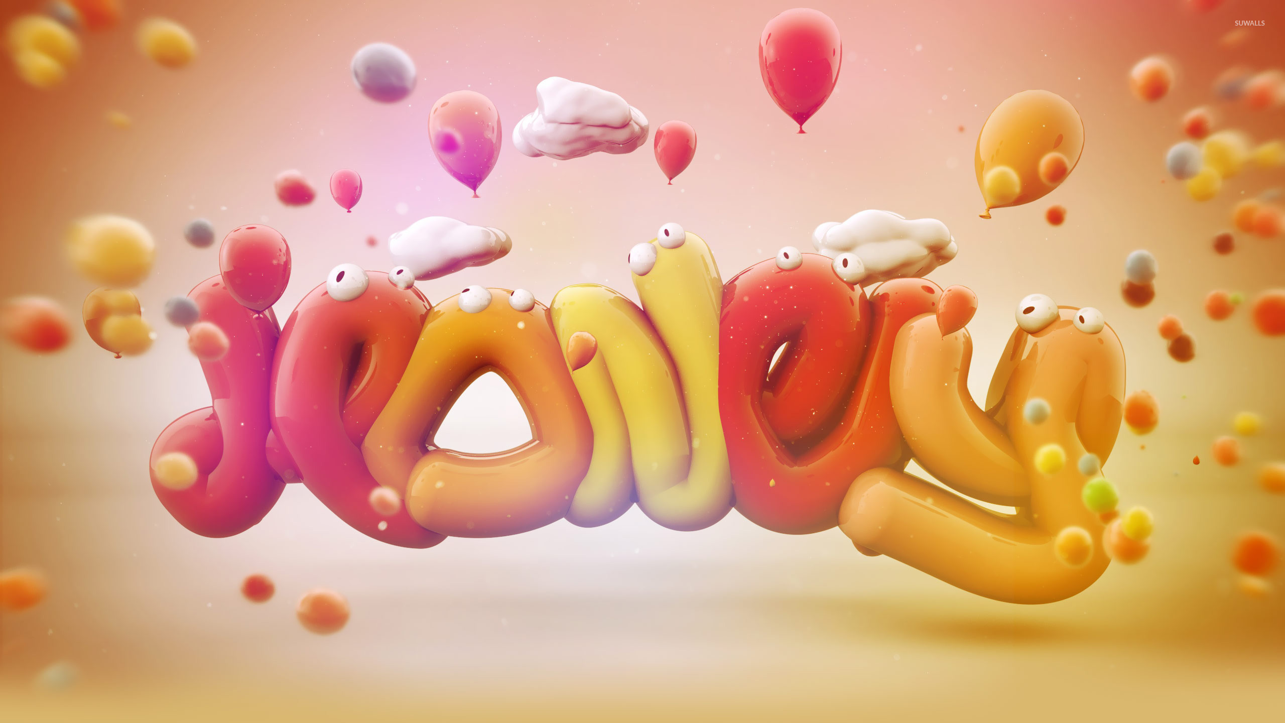 … jelly worms wallpaper typography wallpapers 19228 …