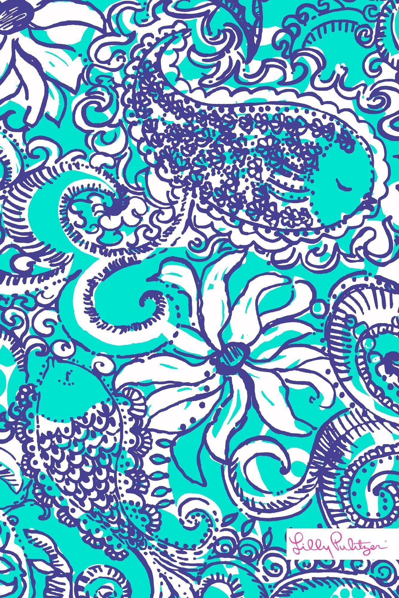 Lilly Pulitzer Montauk iPhone wallpaper   Patterns We Love! Lilly .