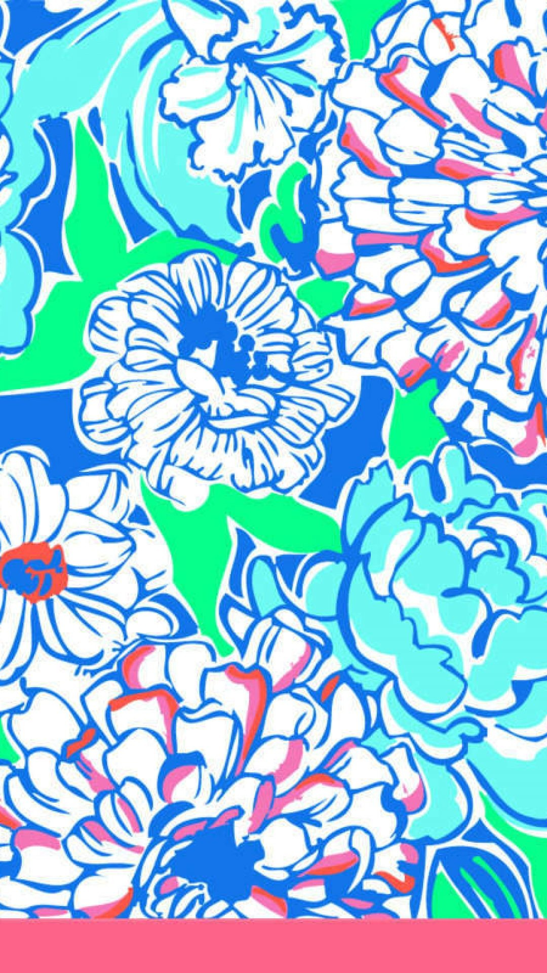lilly pulitzer patterns blue