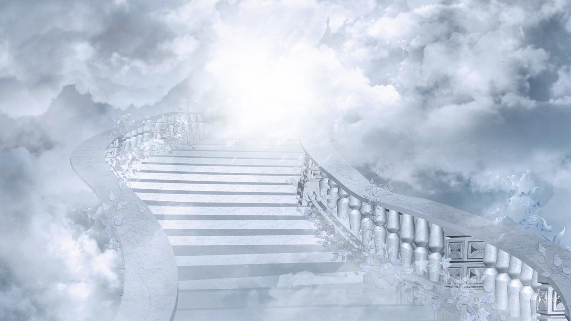 Wallpapers For > Stairway To Heaven Background
