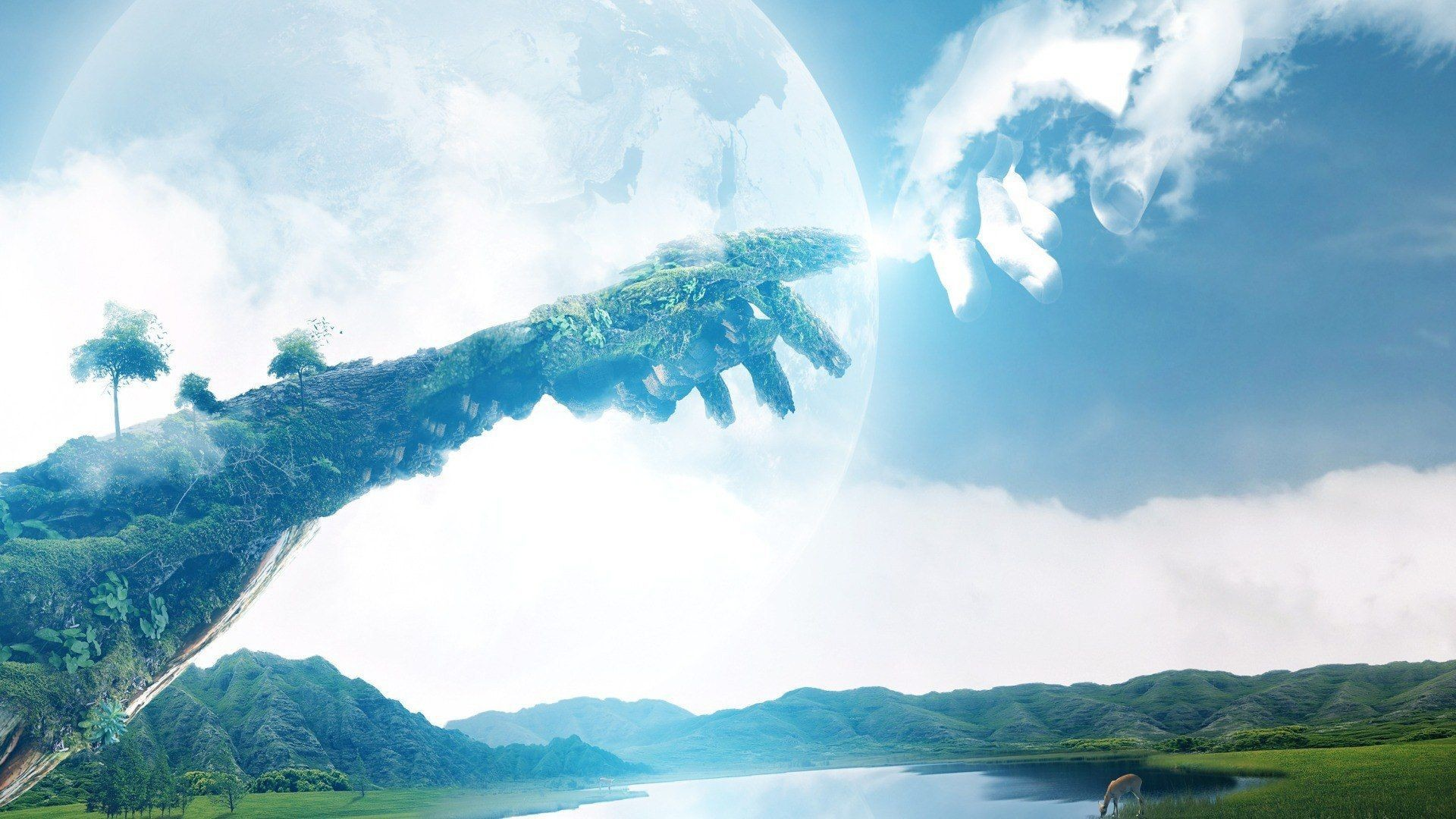 Touching earth to heaven wallpapers and images – wallpapers .