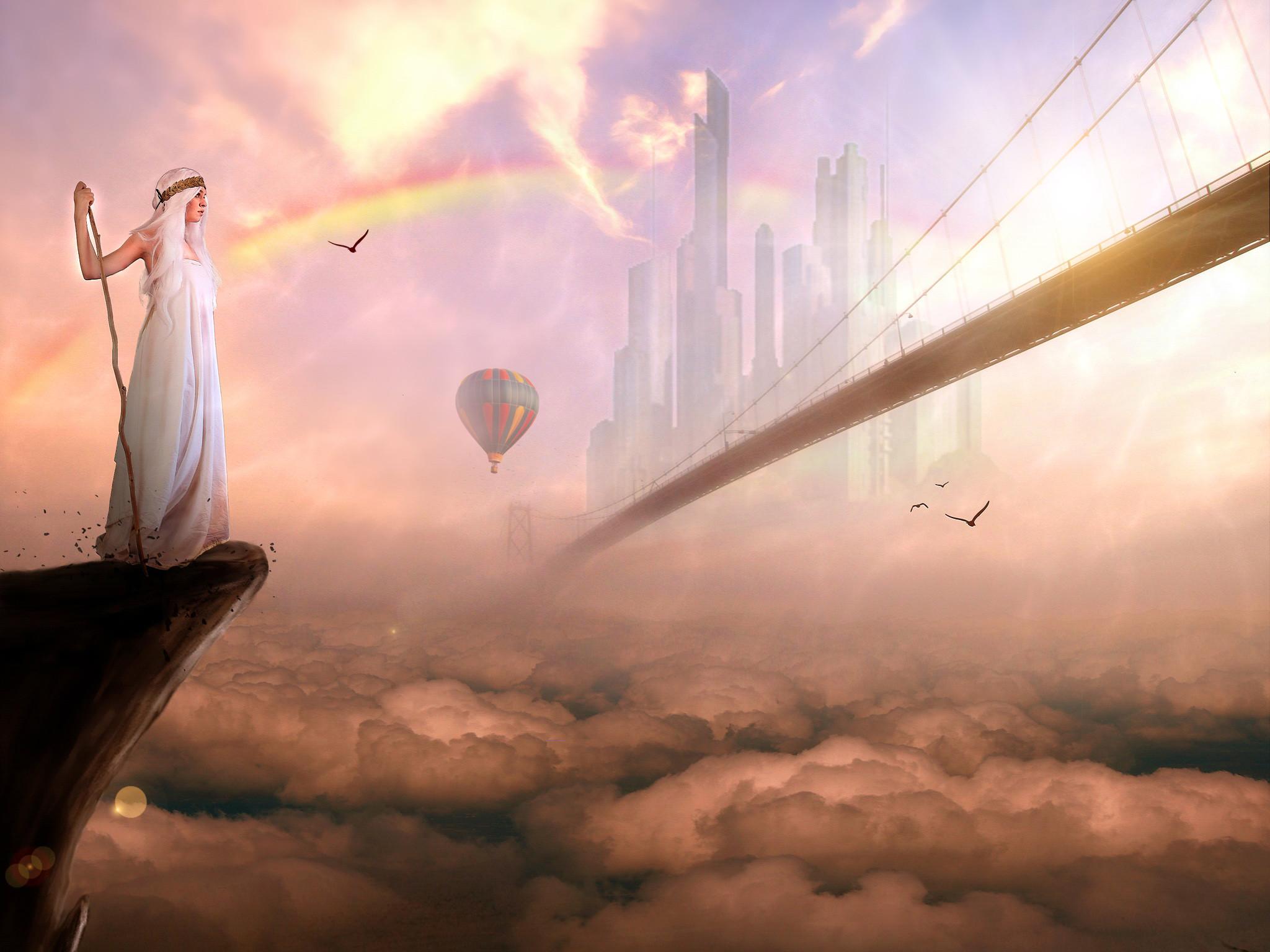 Heaven City Desktop Wallpaper
