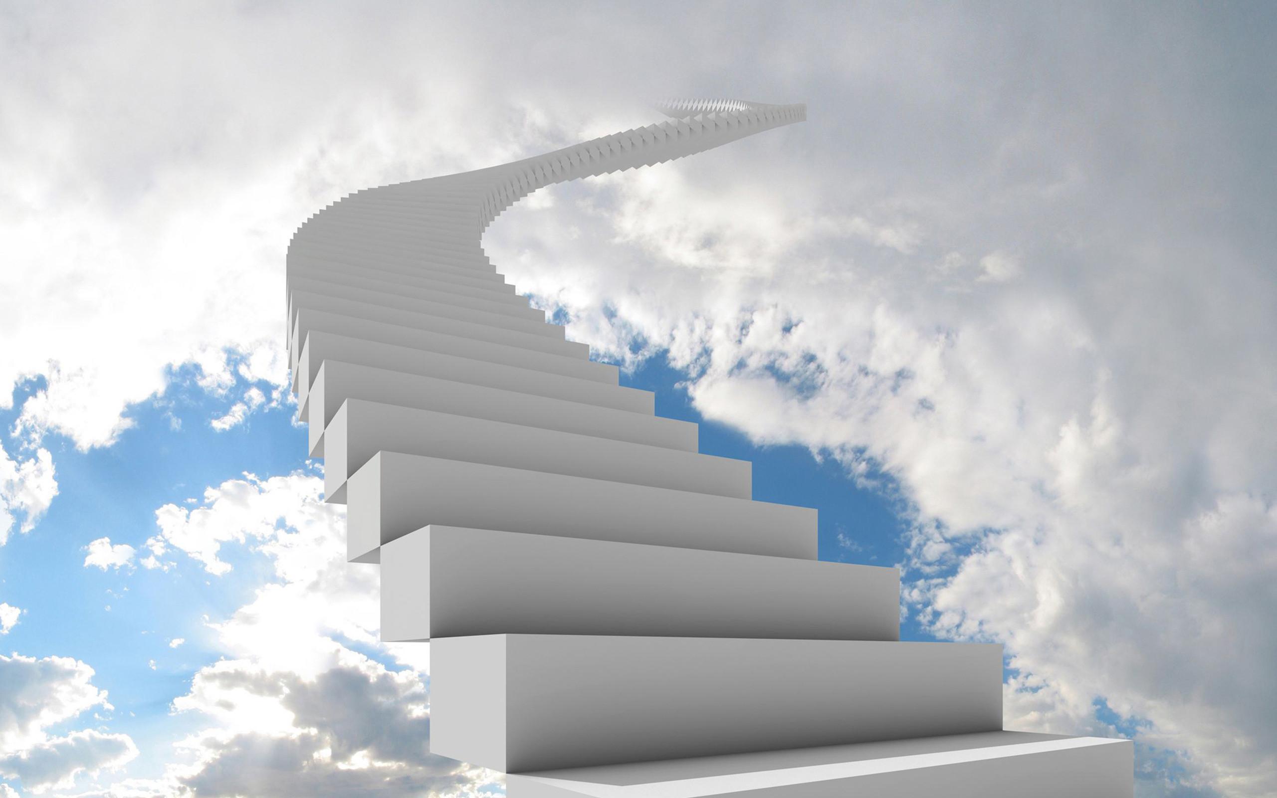 Staircase to heaven Wallpaper #8084