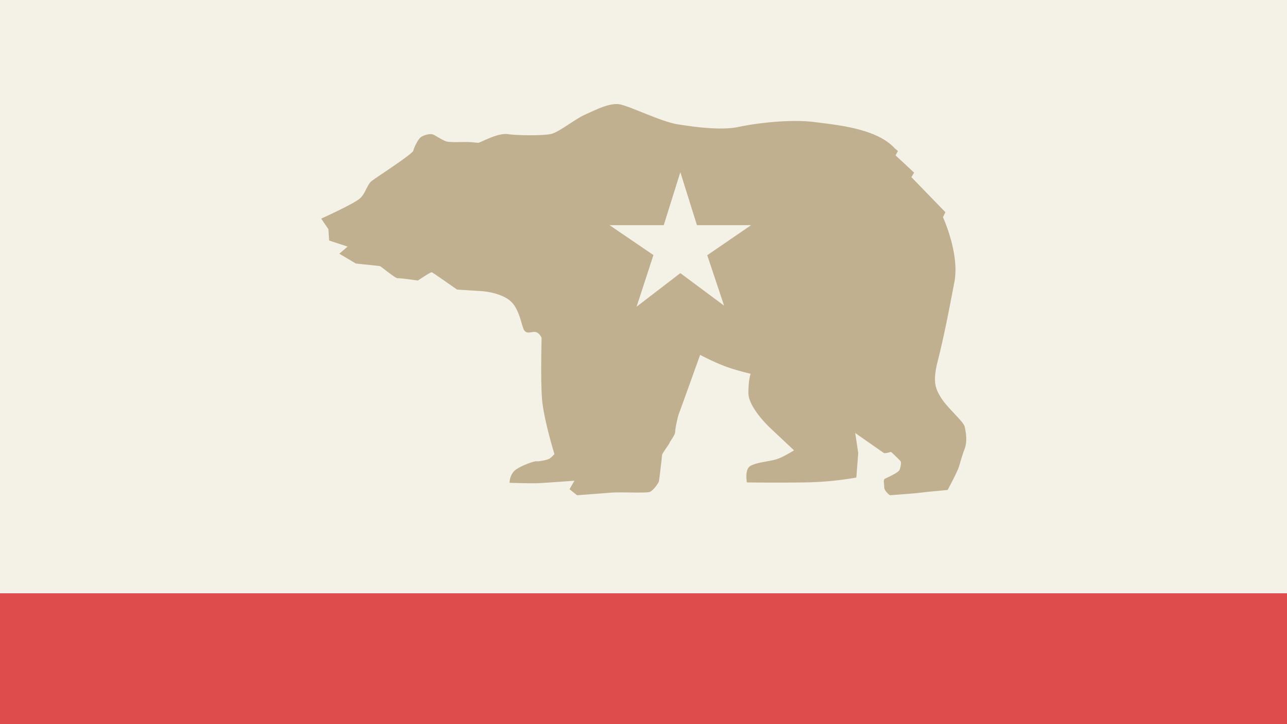 California State Flag Wallpaper