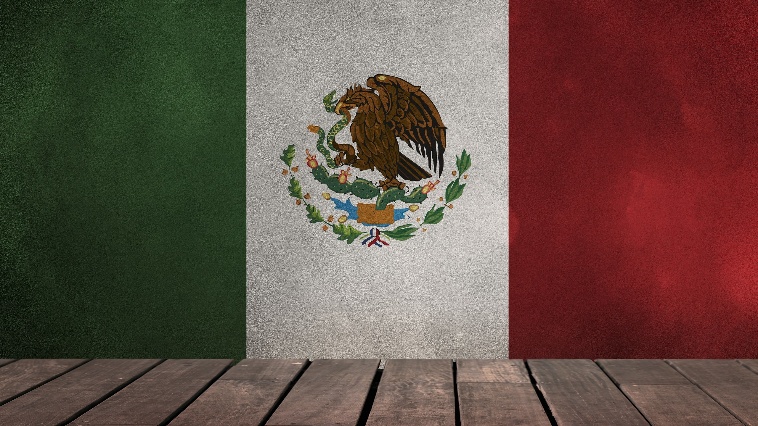 World / Flag of Mexico Wallpaper