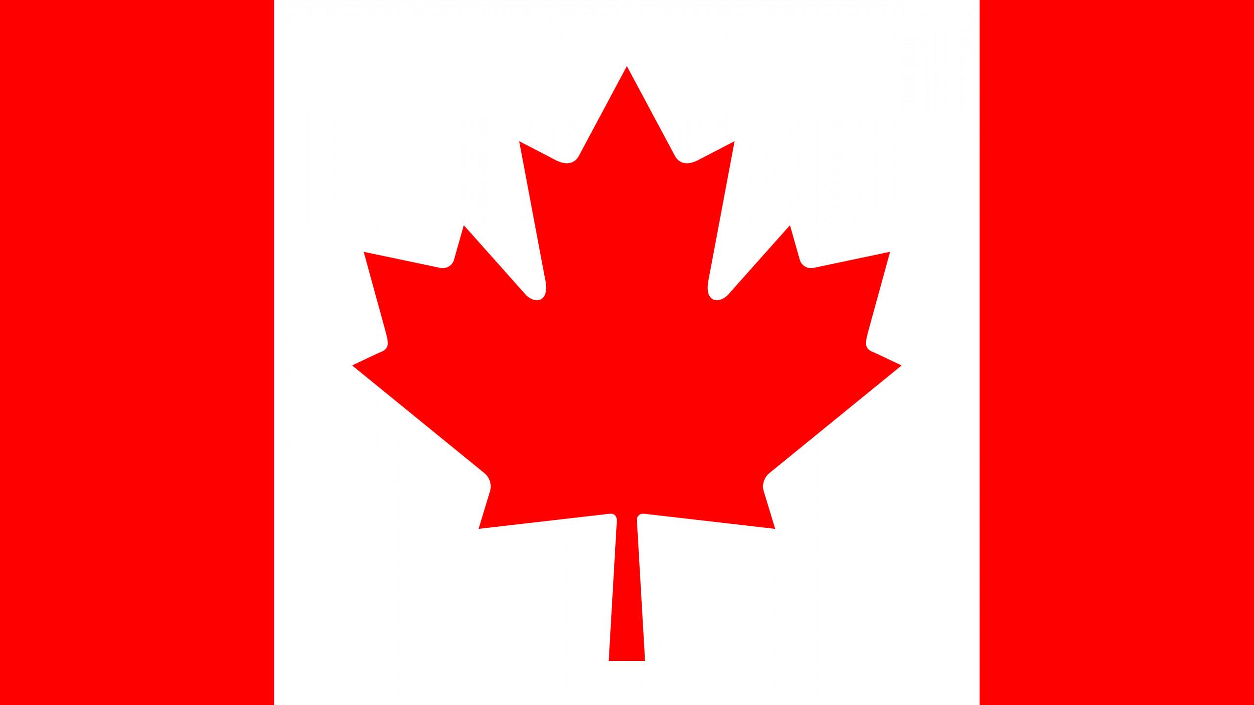 World / Flag of Canada Wallpaper