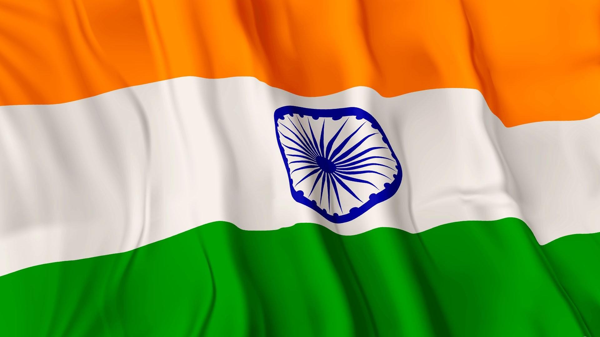 World / Indian Flag Wallpaper