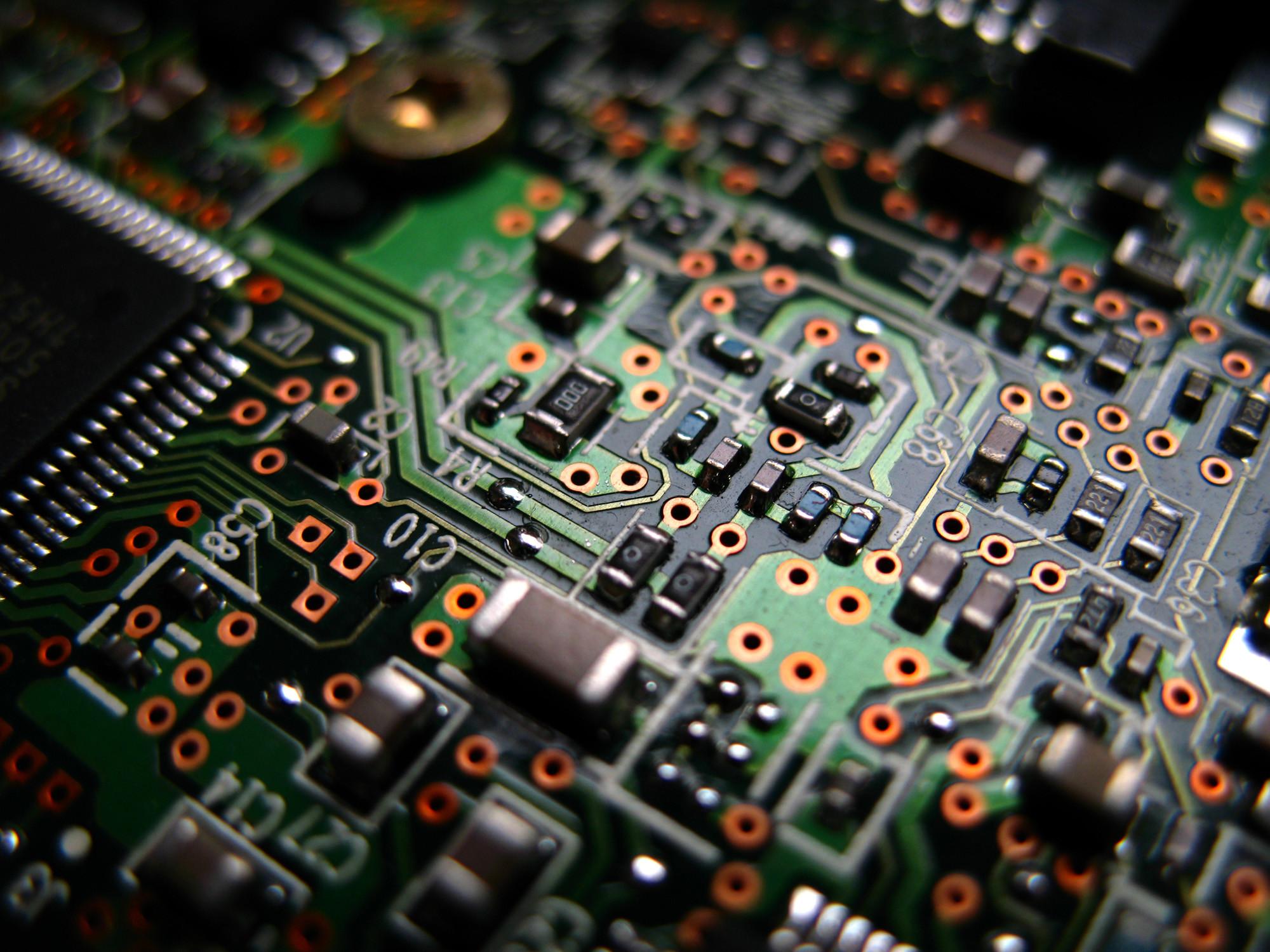 Electronic Circuit wallpaper