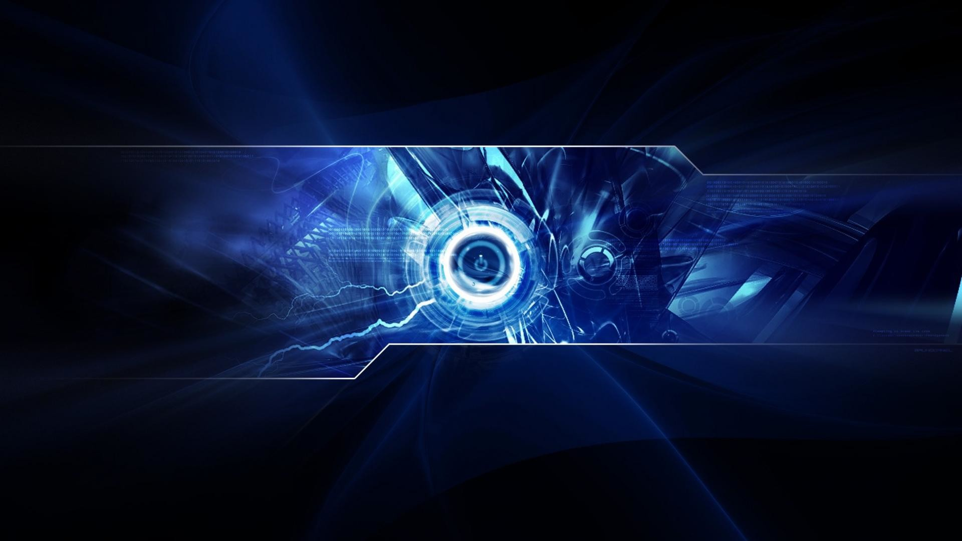 HD Digital 3D Light Blue Wallpaper for Computer Full Size .