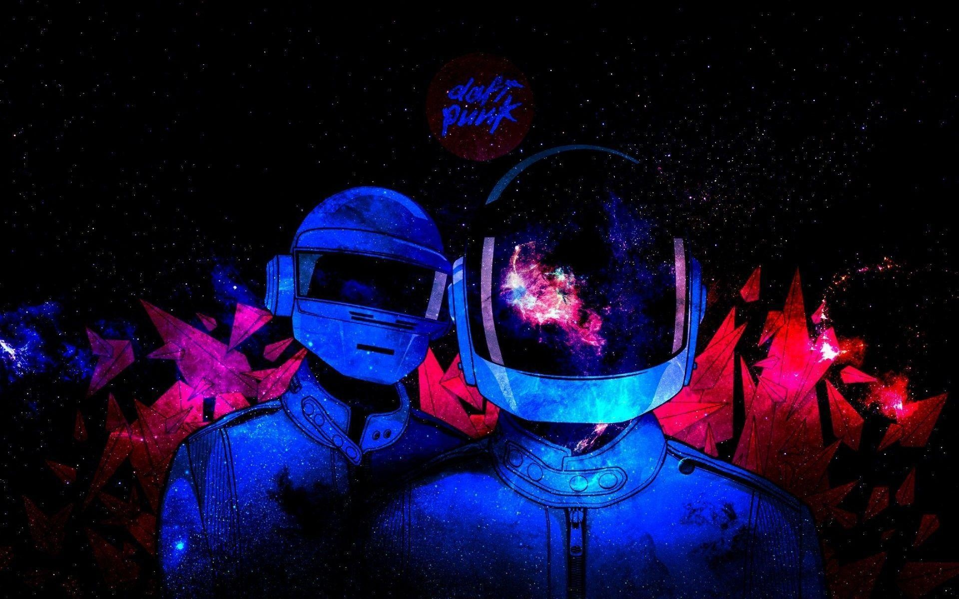 Outer Space Daft Punk Electronic Wallpaper Wide or HD | Artistic .