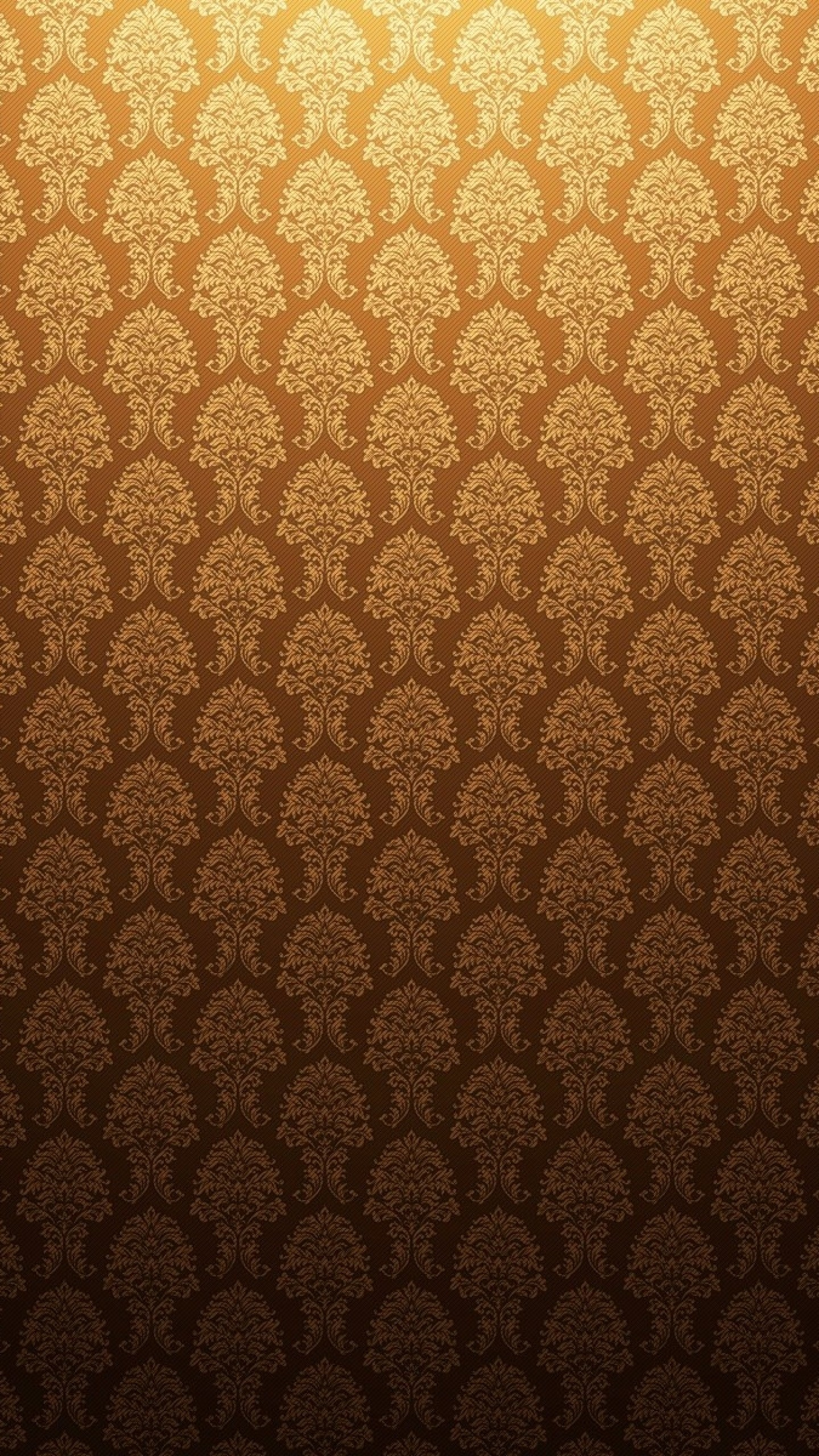 Preview wallpaper gold, antique, background, patterns 1440×2560