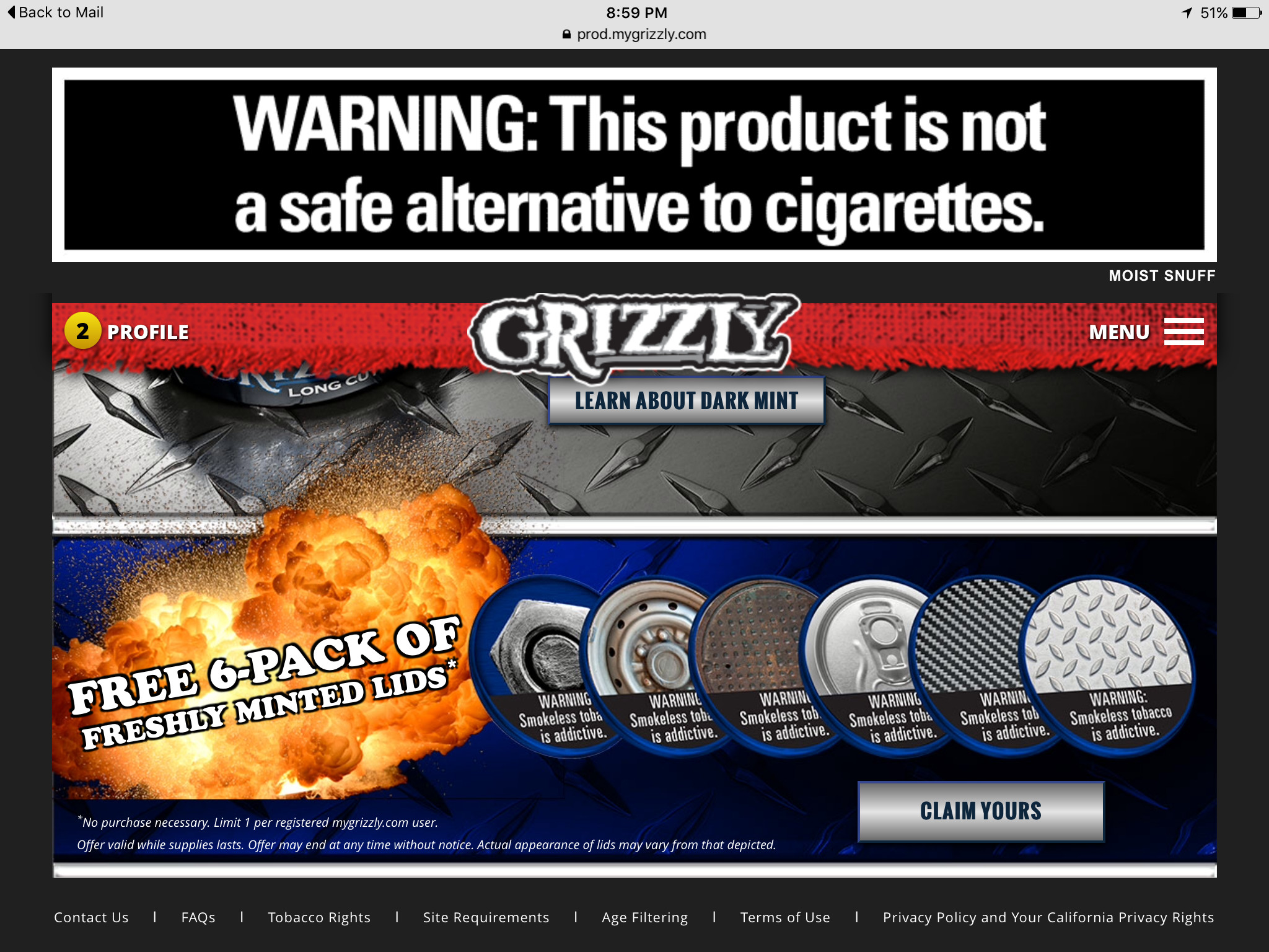 Grizzly giveaway …