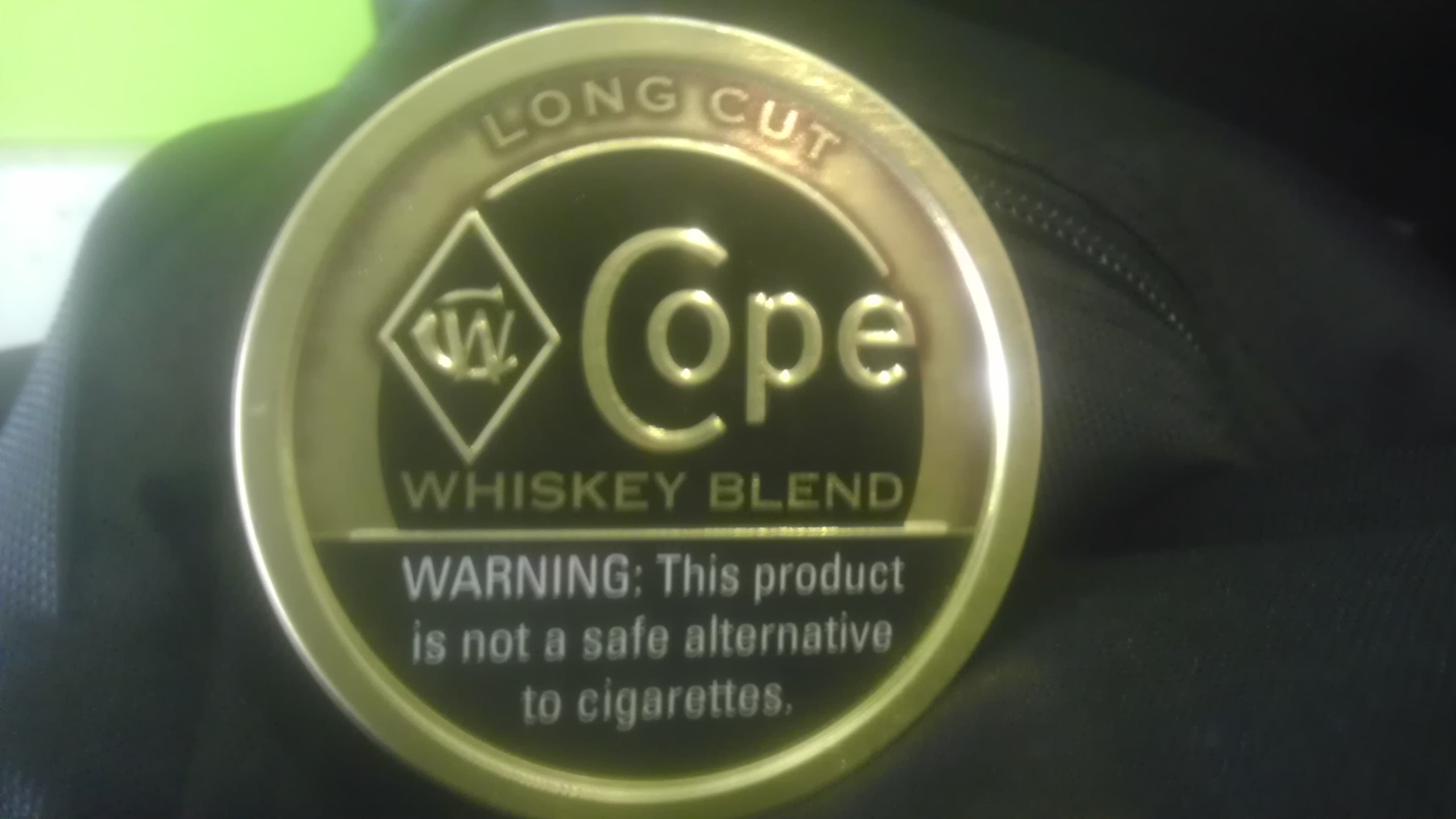 Finally got my hands on some cope whiskey!