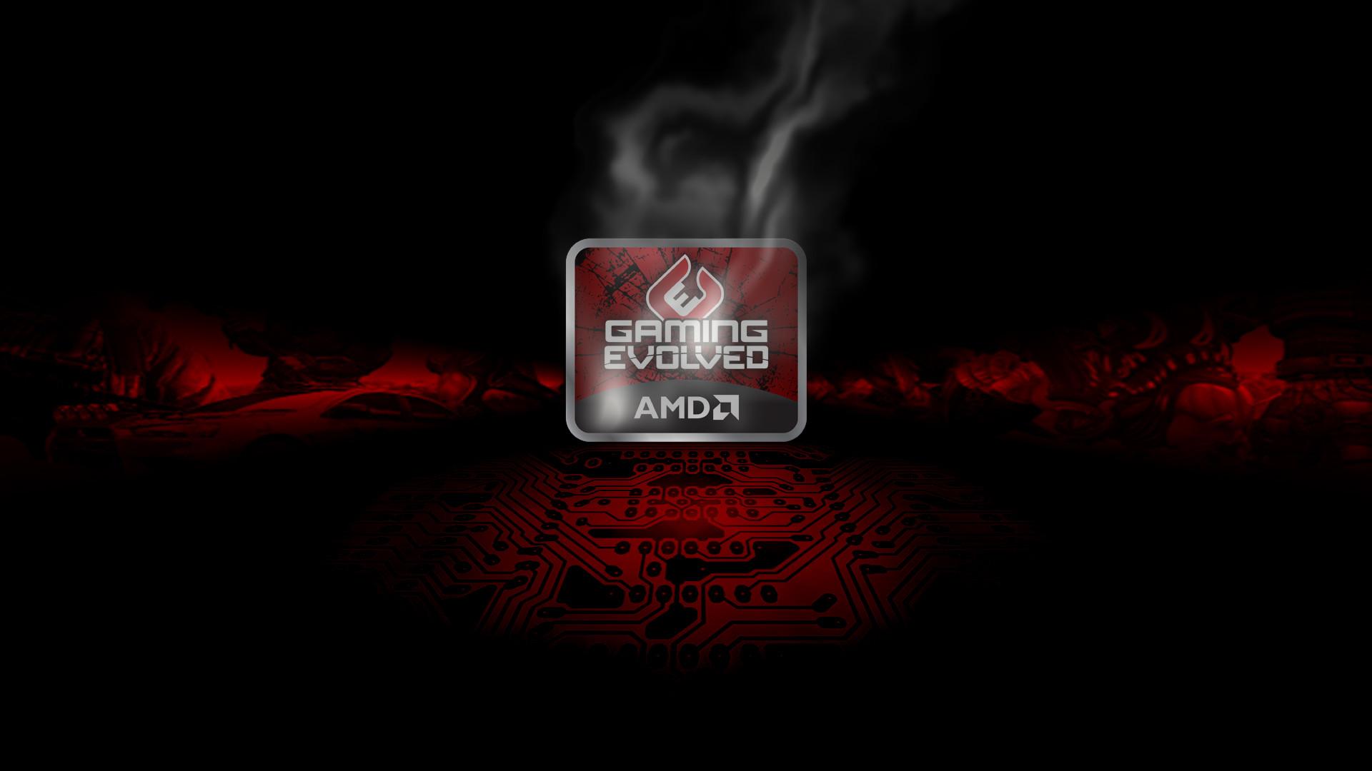 Radeon Wallpapers – HD AMD Radeon broken glass –