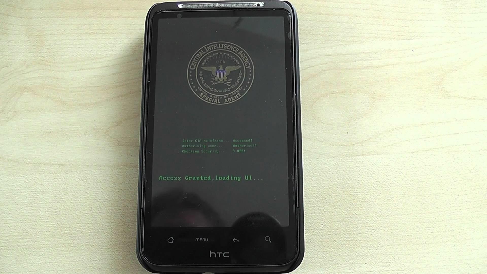 CIA BootScreen CleanDHD 1.41