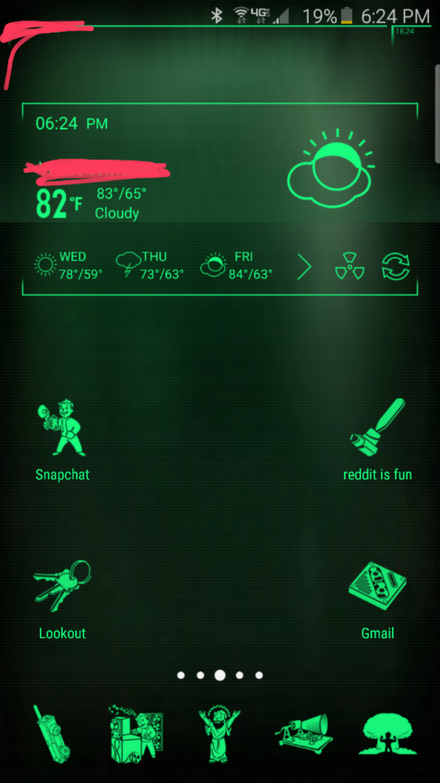 From one android user to another, screw fallout shelter! Just turn your  phone onto