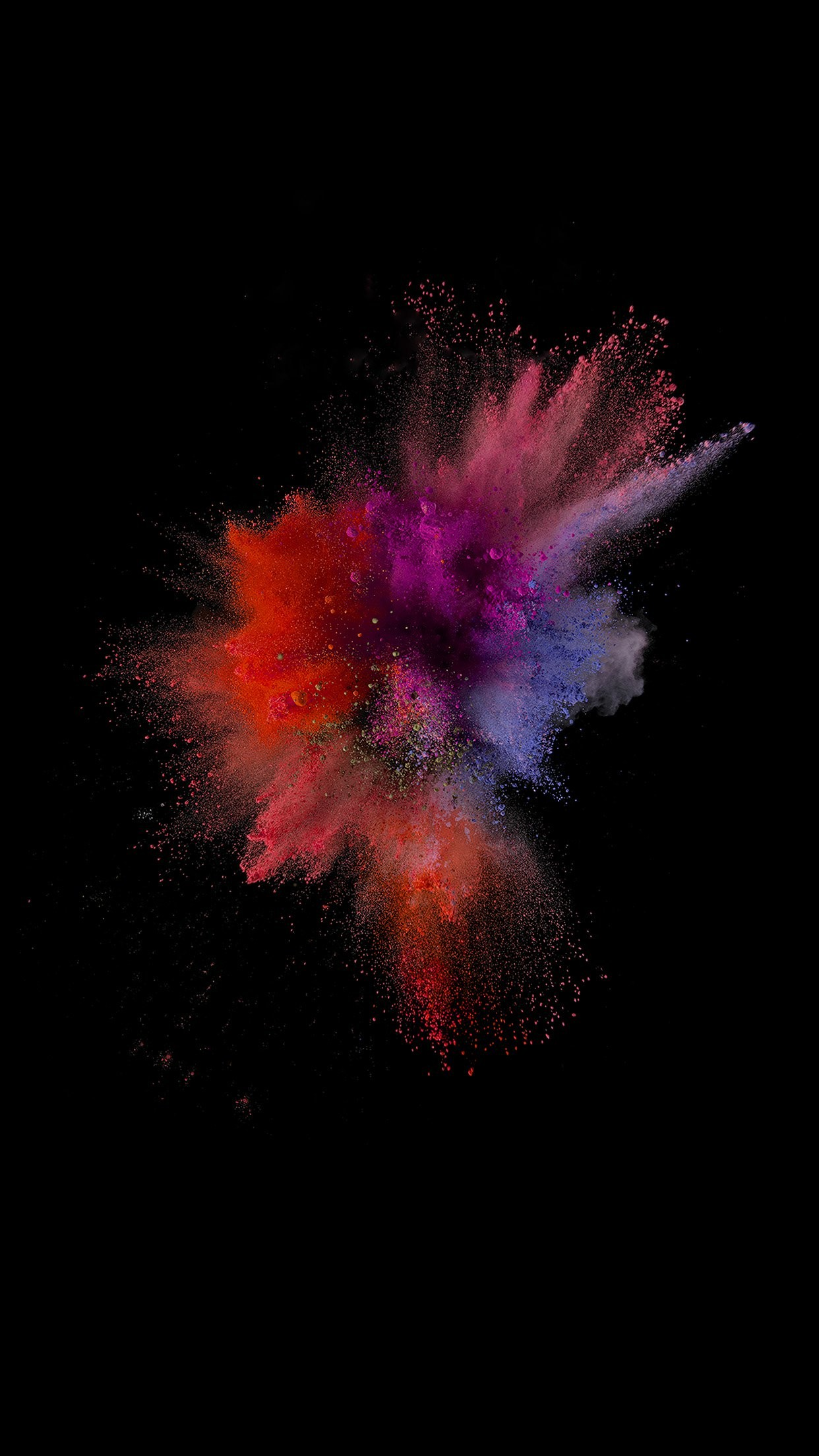 Related ios9 sparkle color red yellow apple crayon dark iphone 7 wallpaper