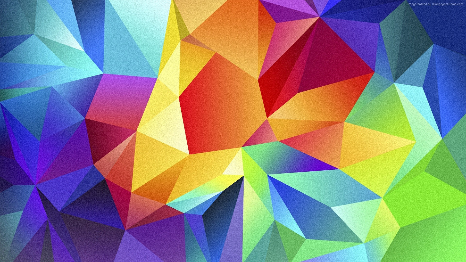 Wallpaper polygon, 4k, HD wallpaper, android, triangle, background, orange,  red, blue, pattern, OS #3522. Bring some HD wallpapers into your life