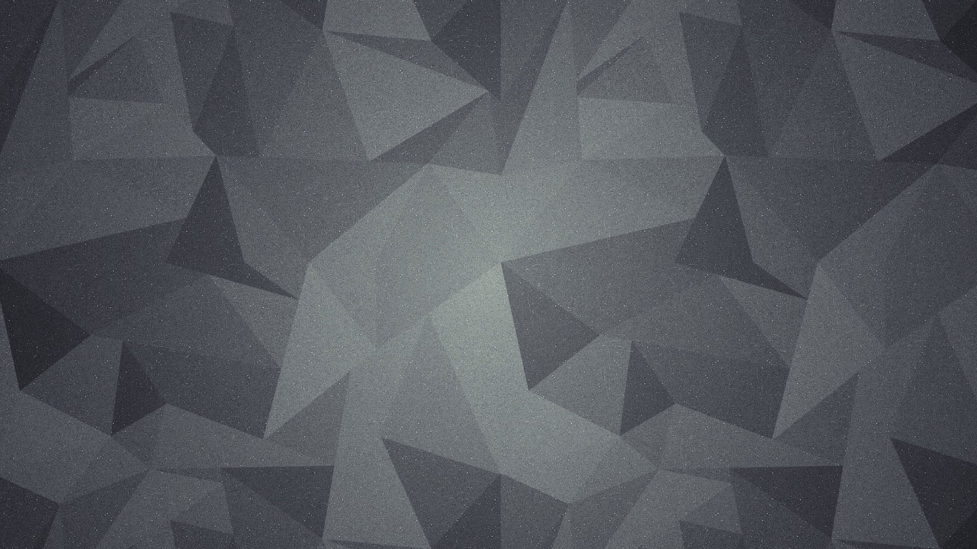 Grey polygon HD Wallpaper 1920×1080