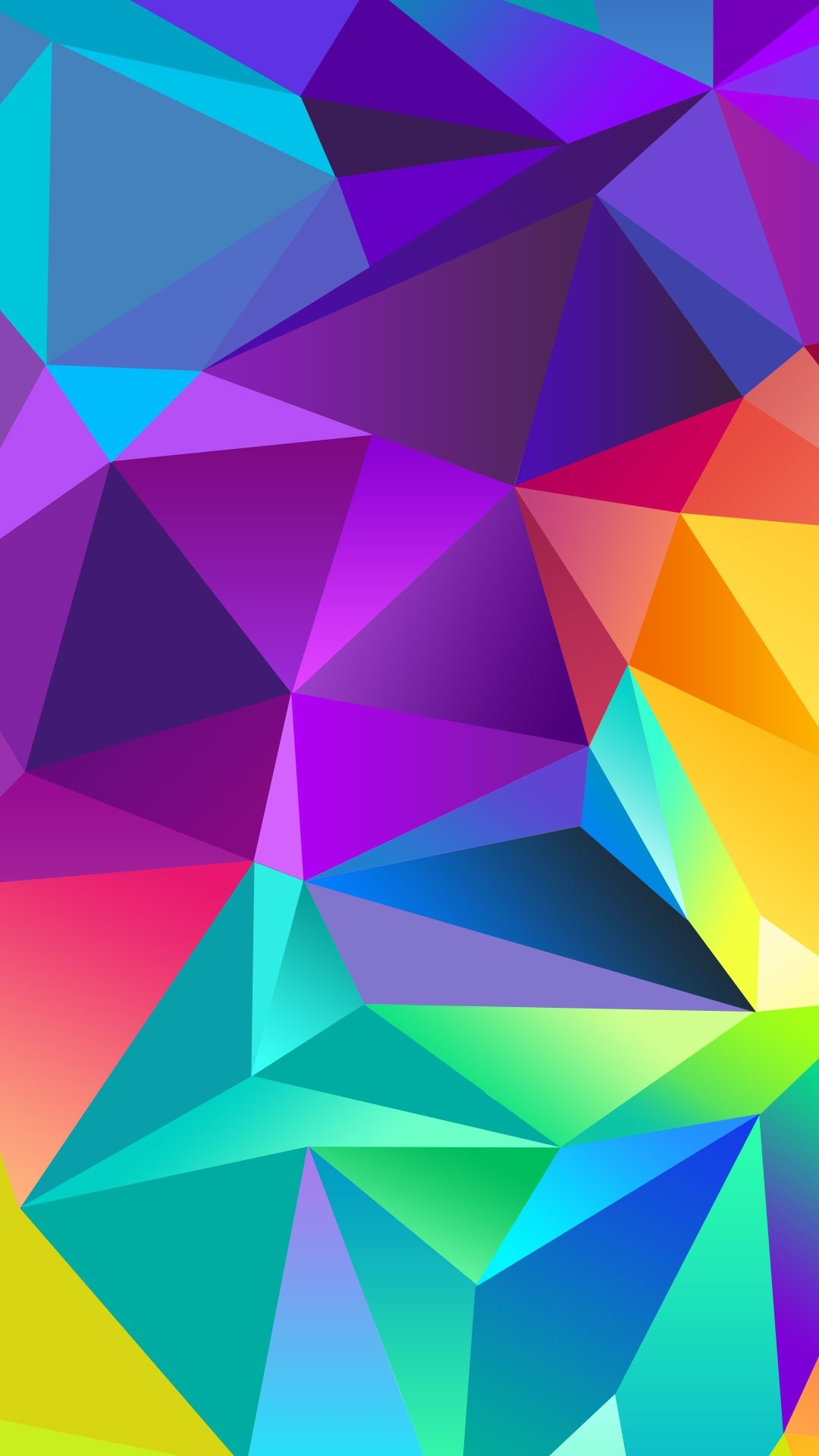 … interior design Large-size Best Cool Iphone Plus Wallpapers Backgrounds  In Hd Quality Colorful Polygon …