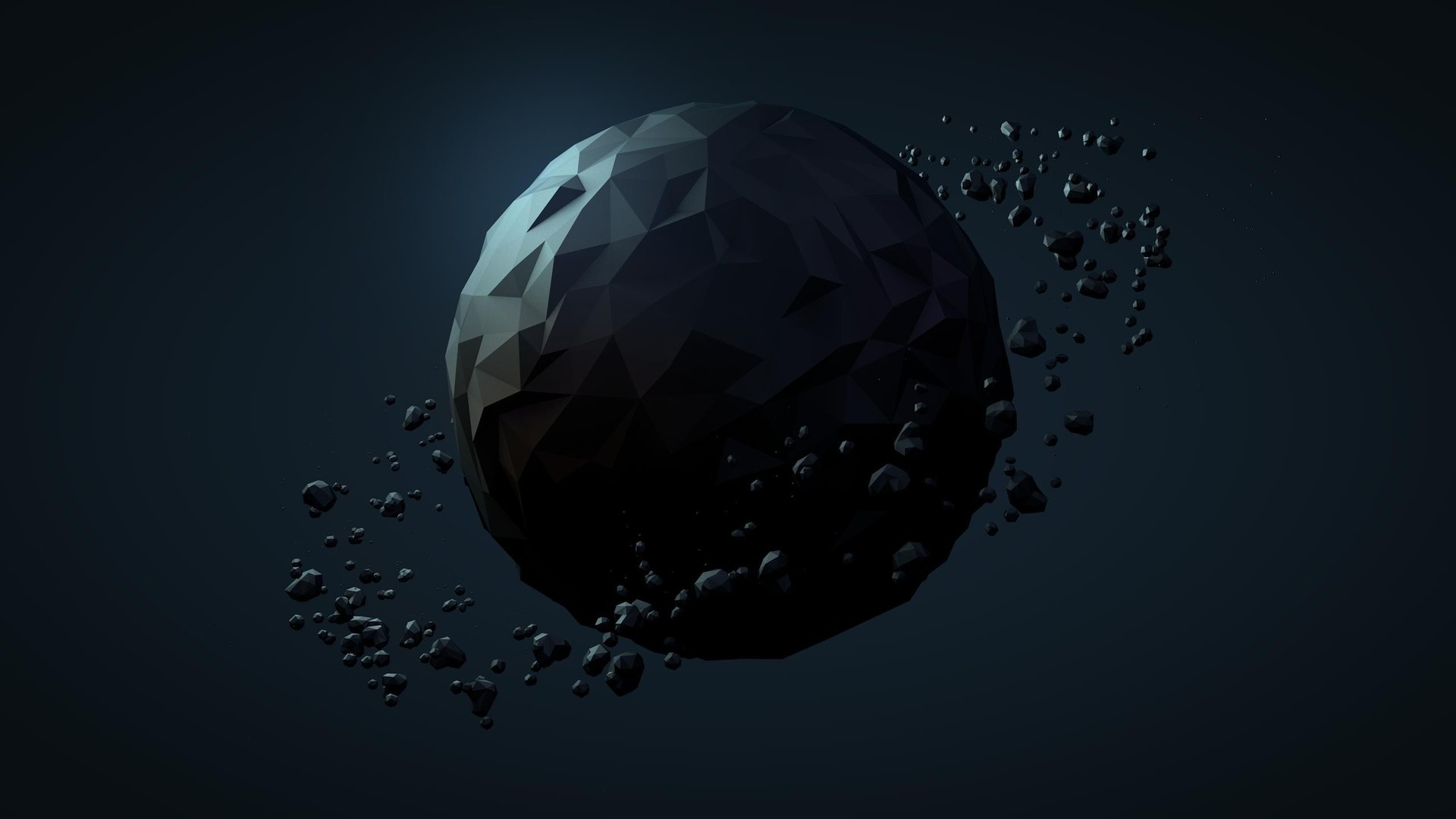 Polygon sphere HD Wallpaper Polygon …