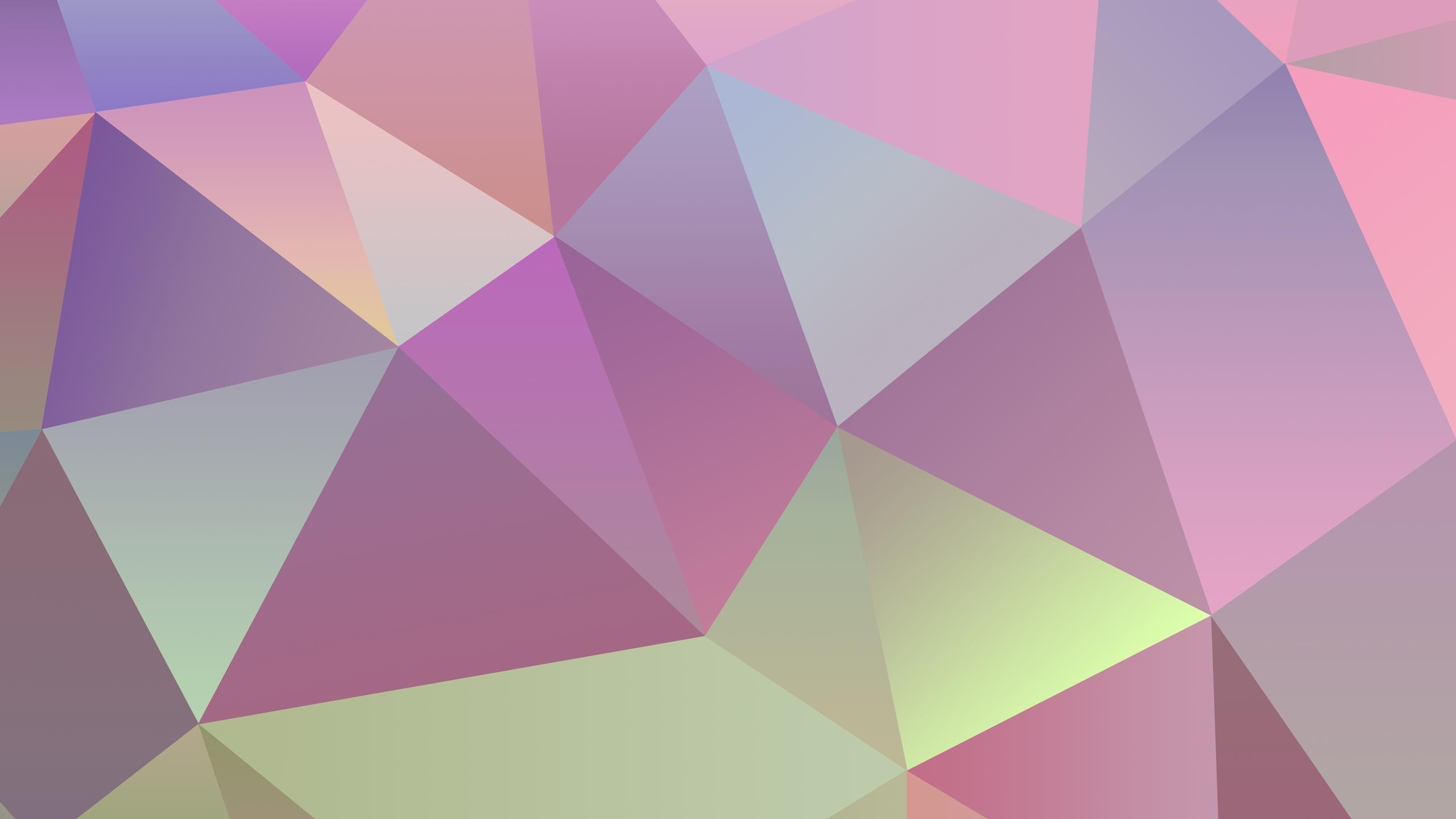 Pastel polygon Wallpaper #