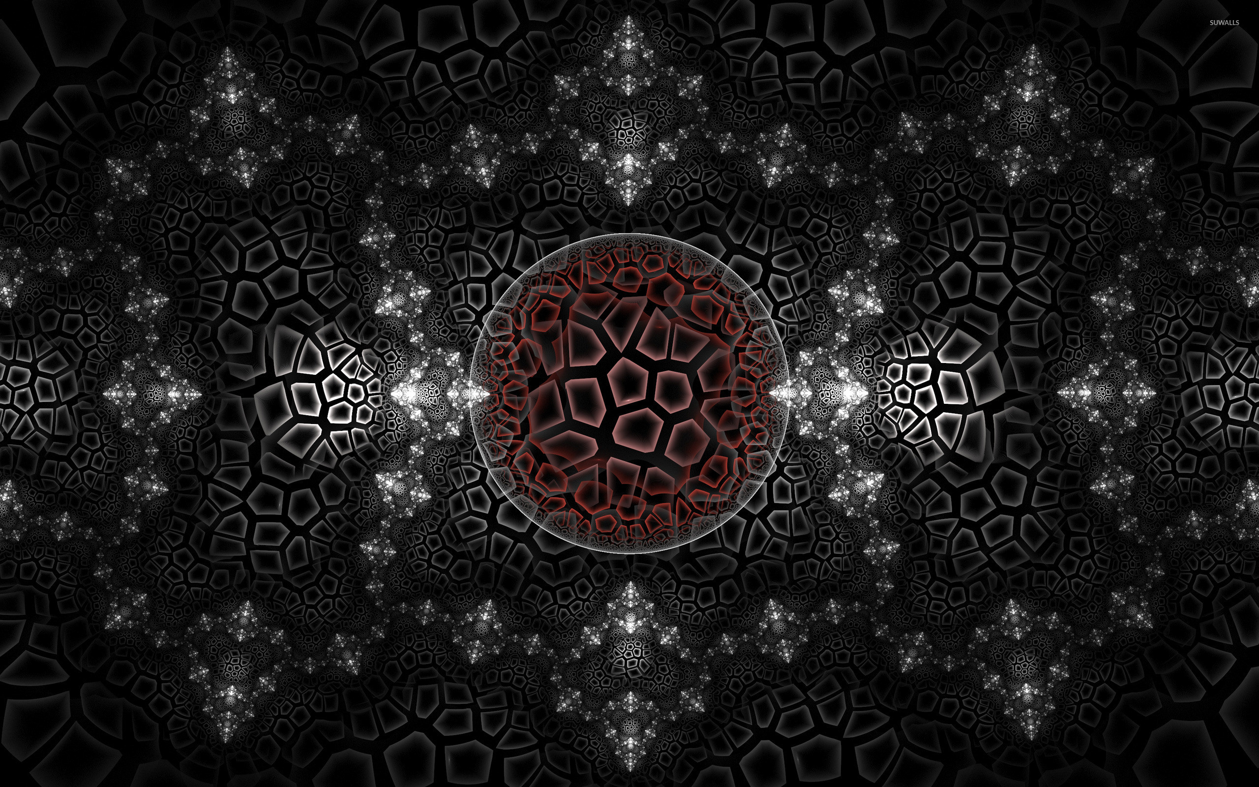 Polygons wallpaper