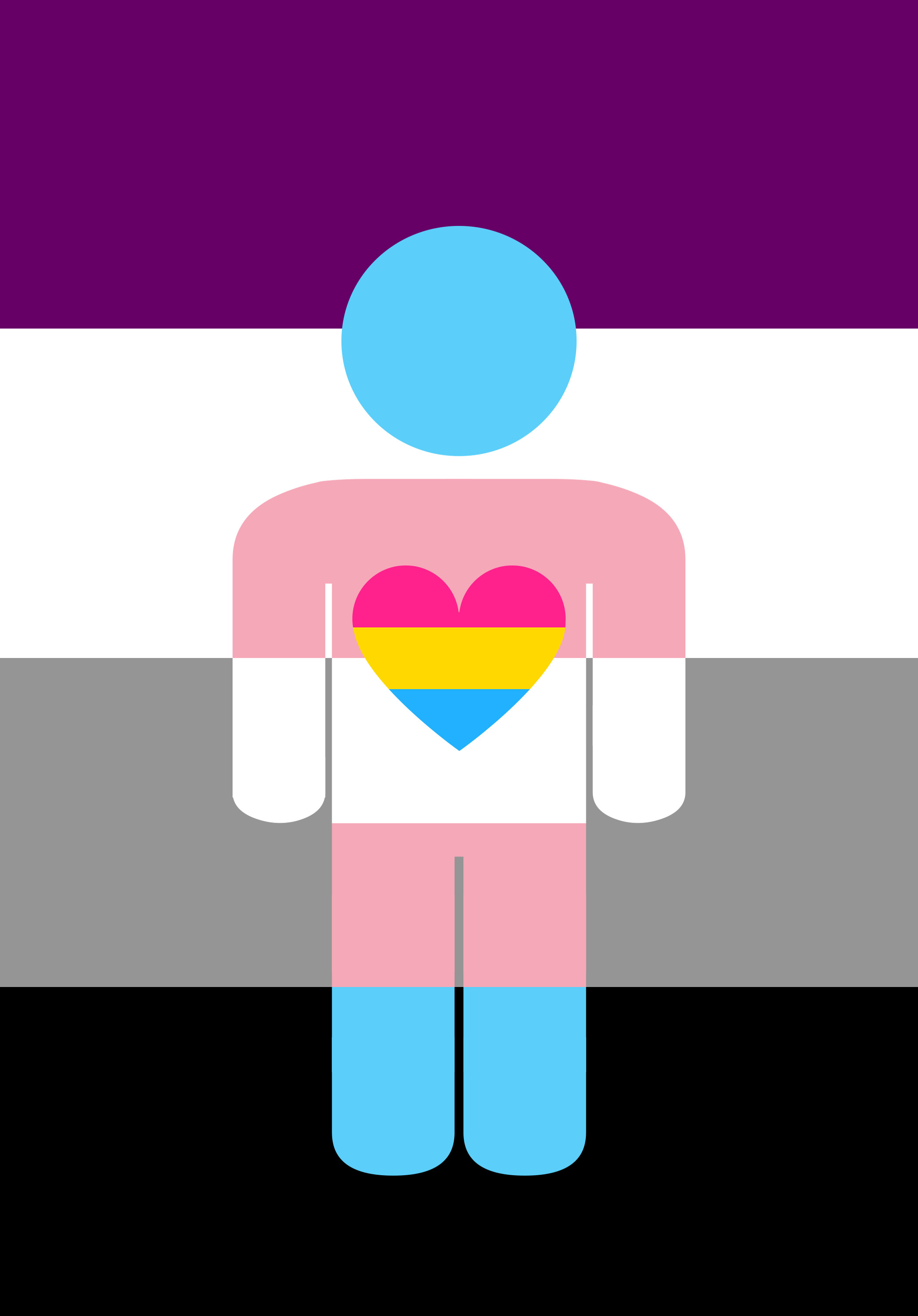 … Asexual Panromantic Trans Combo Thing by Pride-Flags