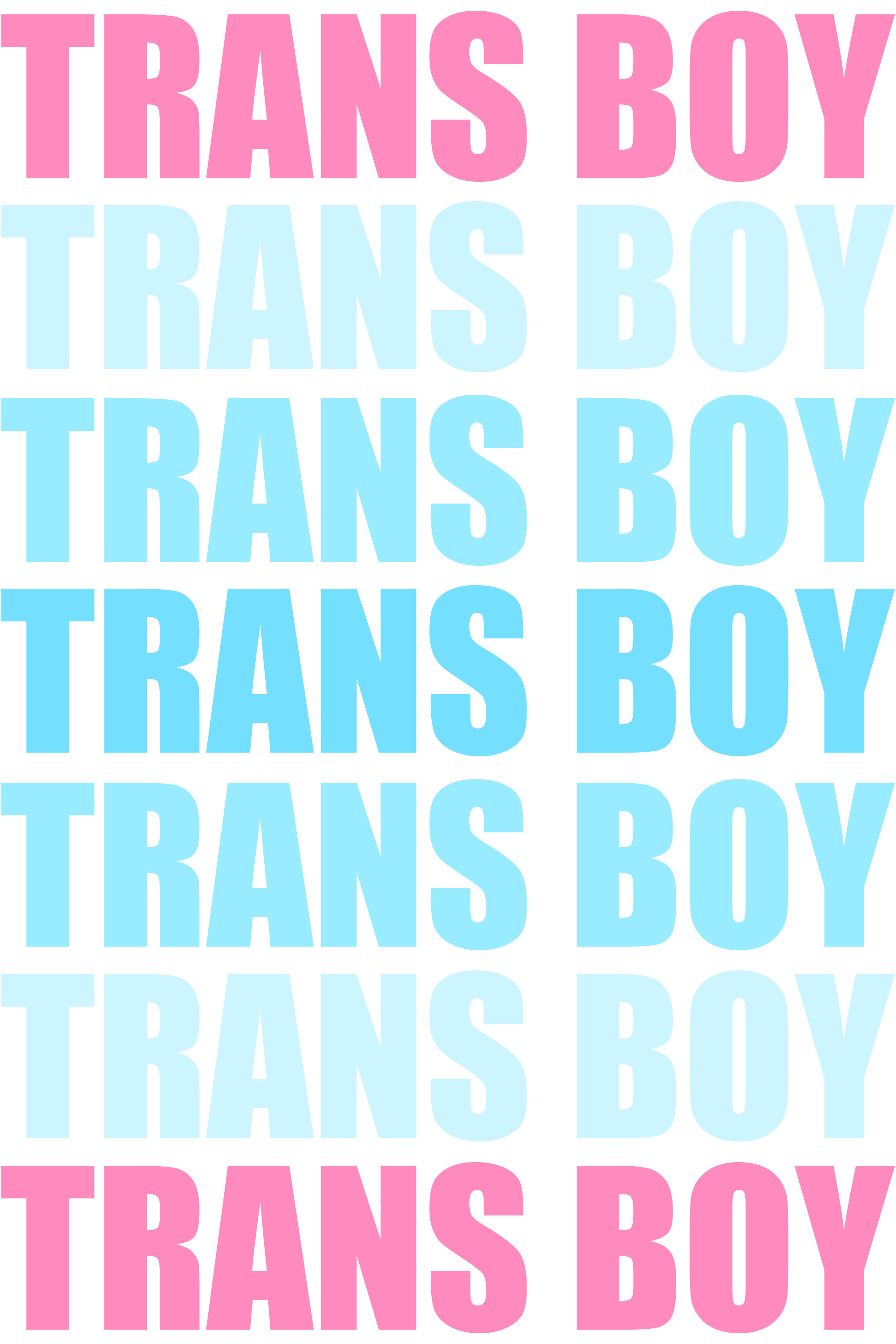 … Trans Boy Typography by Pride-Flags