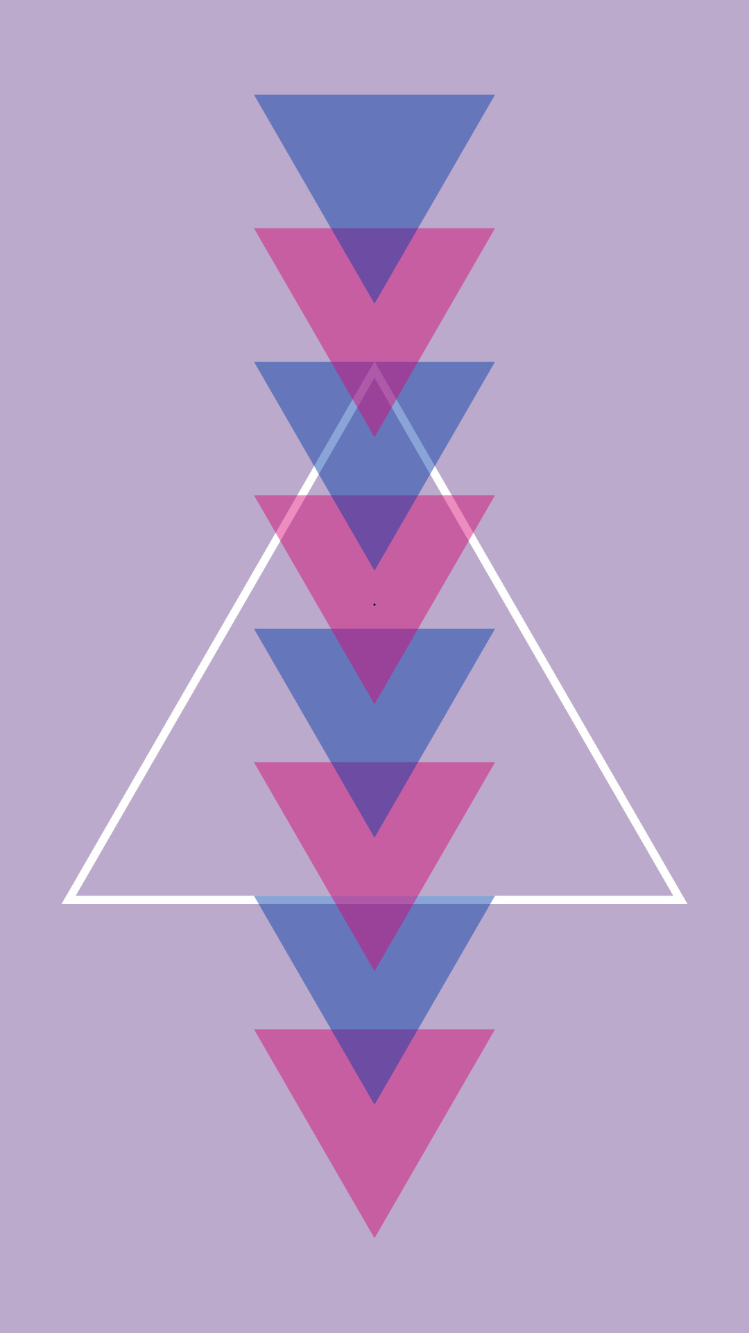 I made a wallpaper for my phone (version without white triangle in comments) PRIDE …
