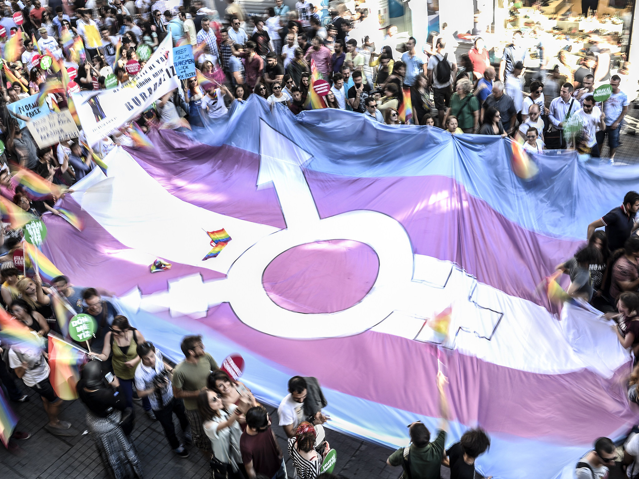 Trans people have no dispute with feminists – they either support  transgender rights or they do not | The Independent