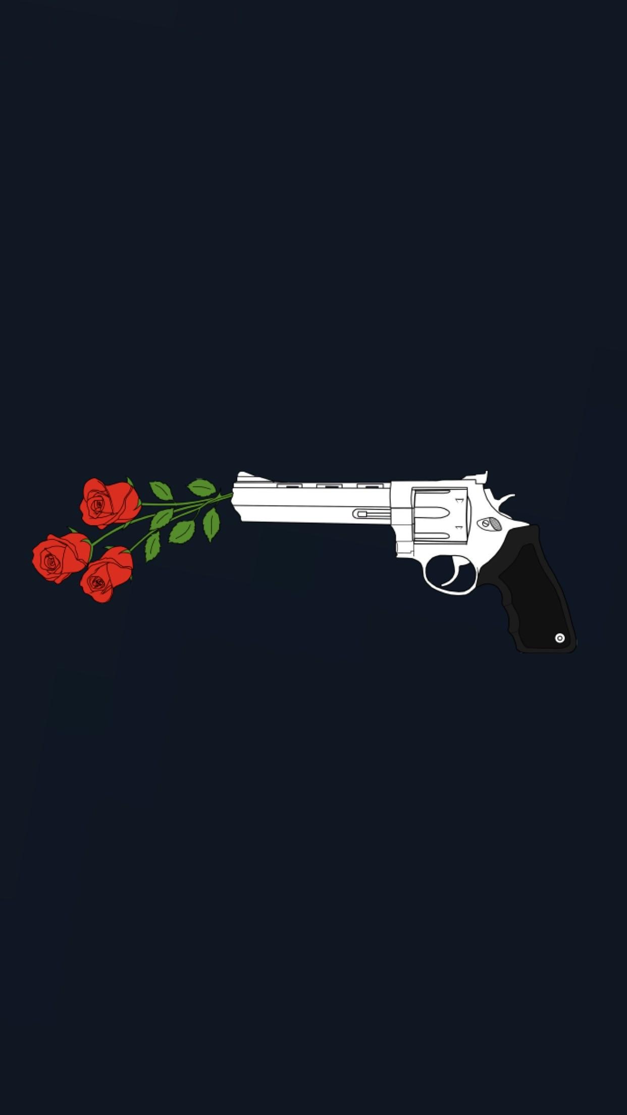 Kill them with roses wallpaper | made by Laurette |  instagram:@laurette_evonen