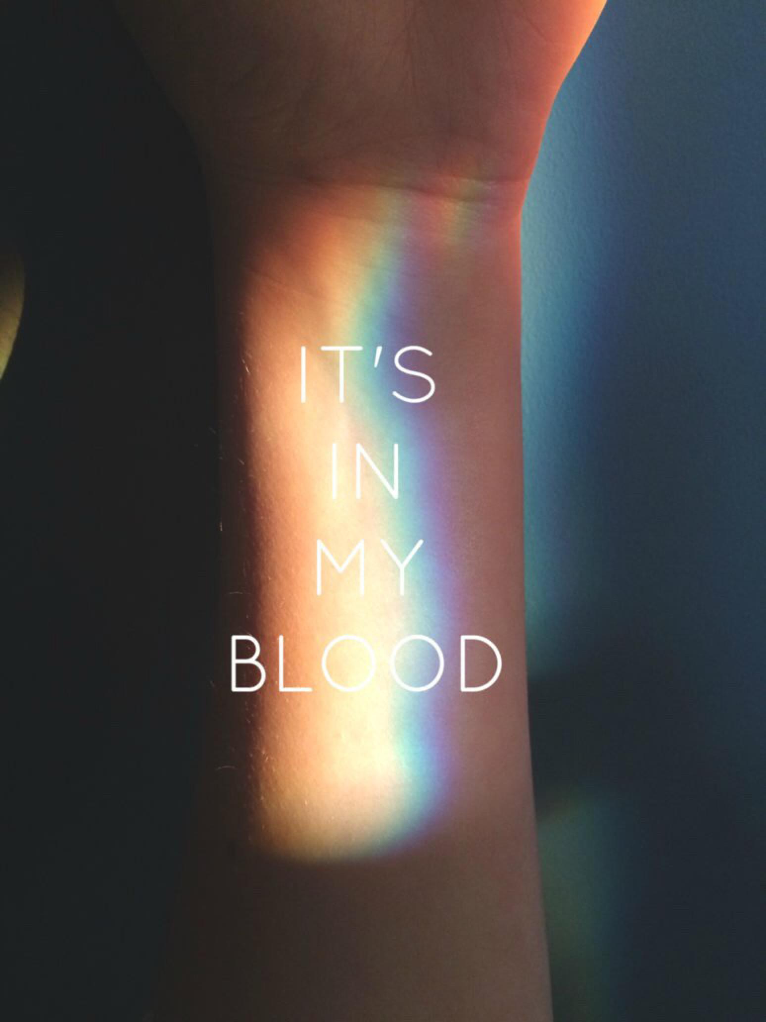 It's In My Blood – LGBT by SoraBuck1 on @DeviantArt