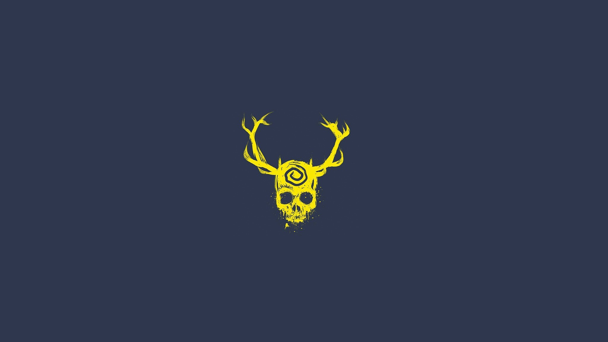 Download Skull Minimalist HD 4k Wallpapers In 1080×1920 .